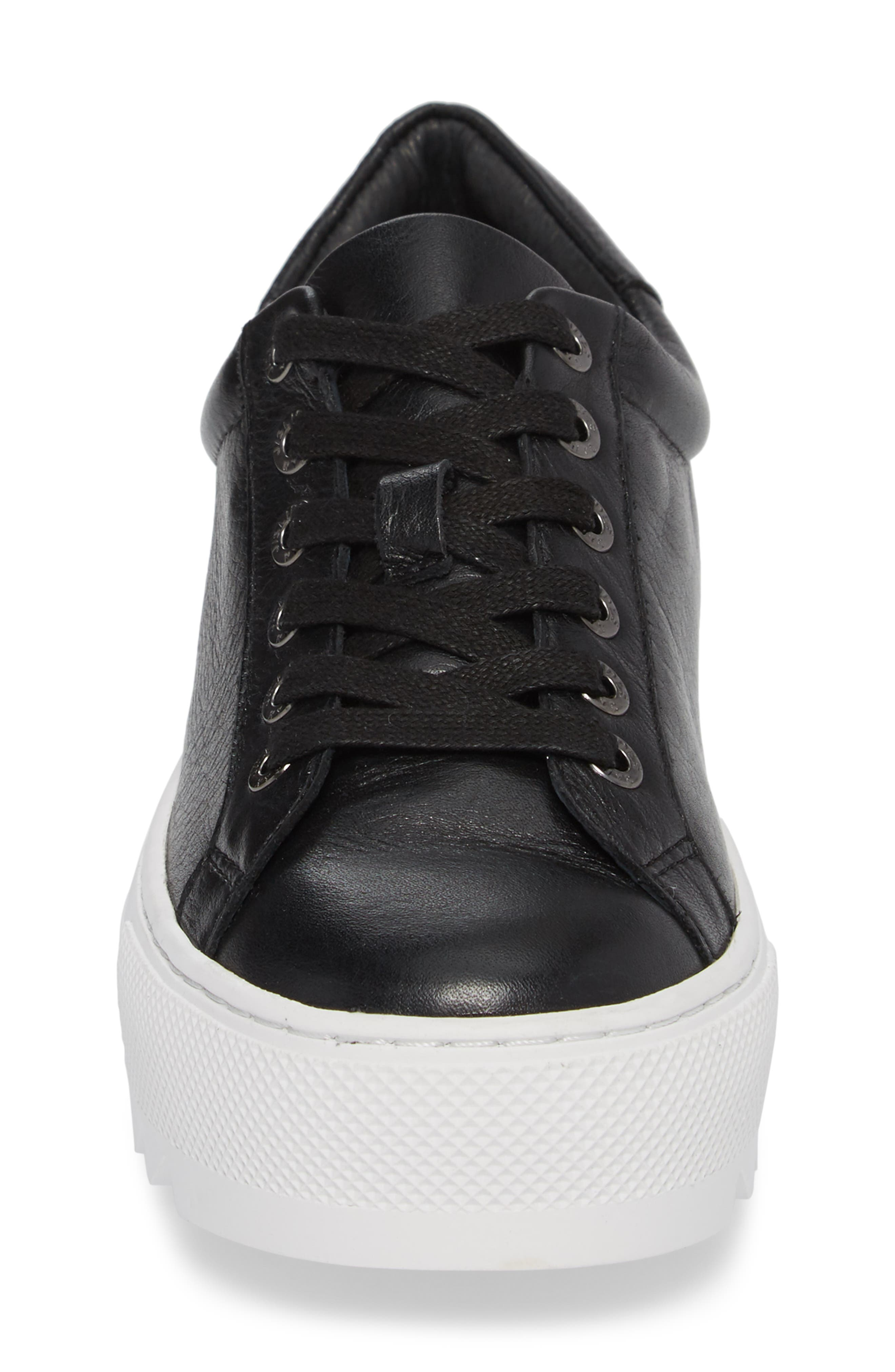 Sapphire Platform Sneaker,                             Alternate thumbnail 4, color,                             015