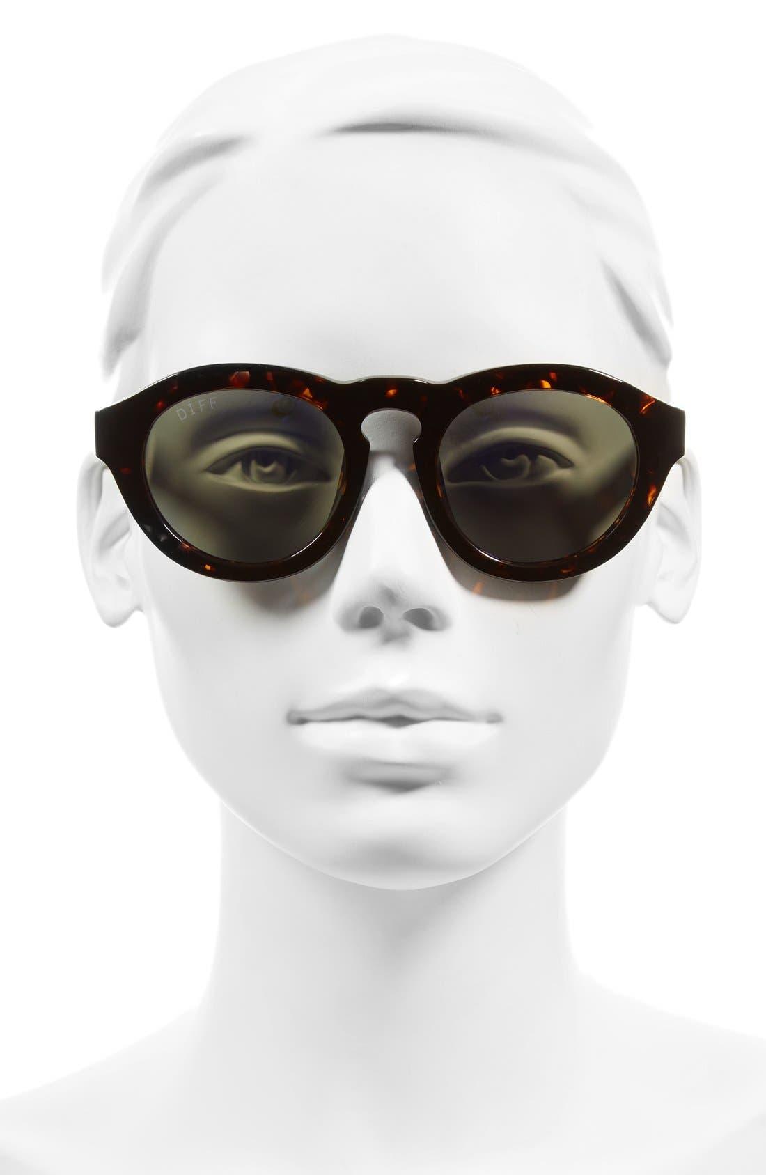Dime 48mm Retro Sunglasses,                             Alternate thumbnail 28, color,