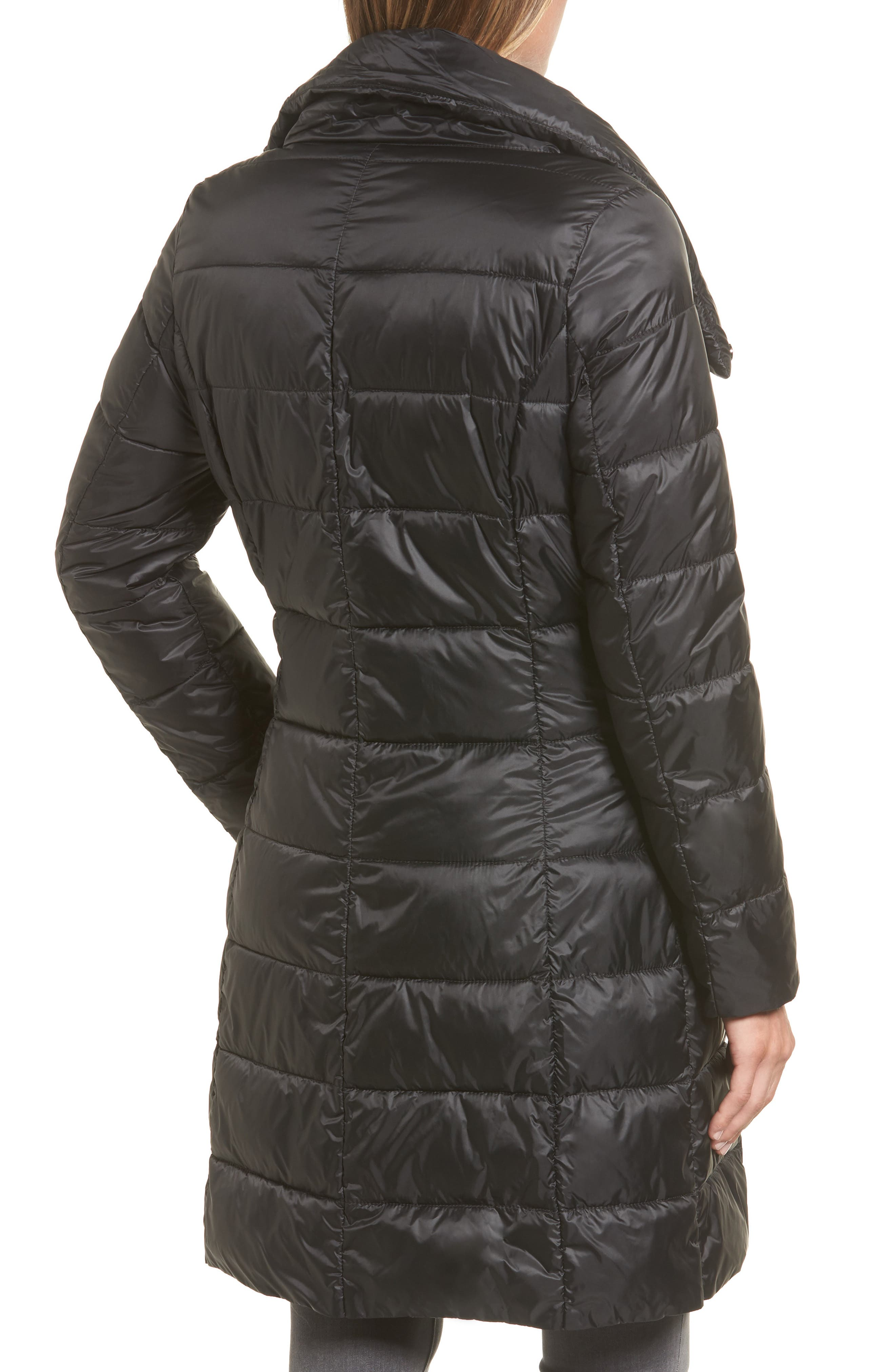 Water Resistant Baffle Quilted Jacket,                             Alternate thumbnail 2, color,