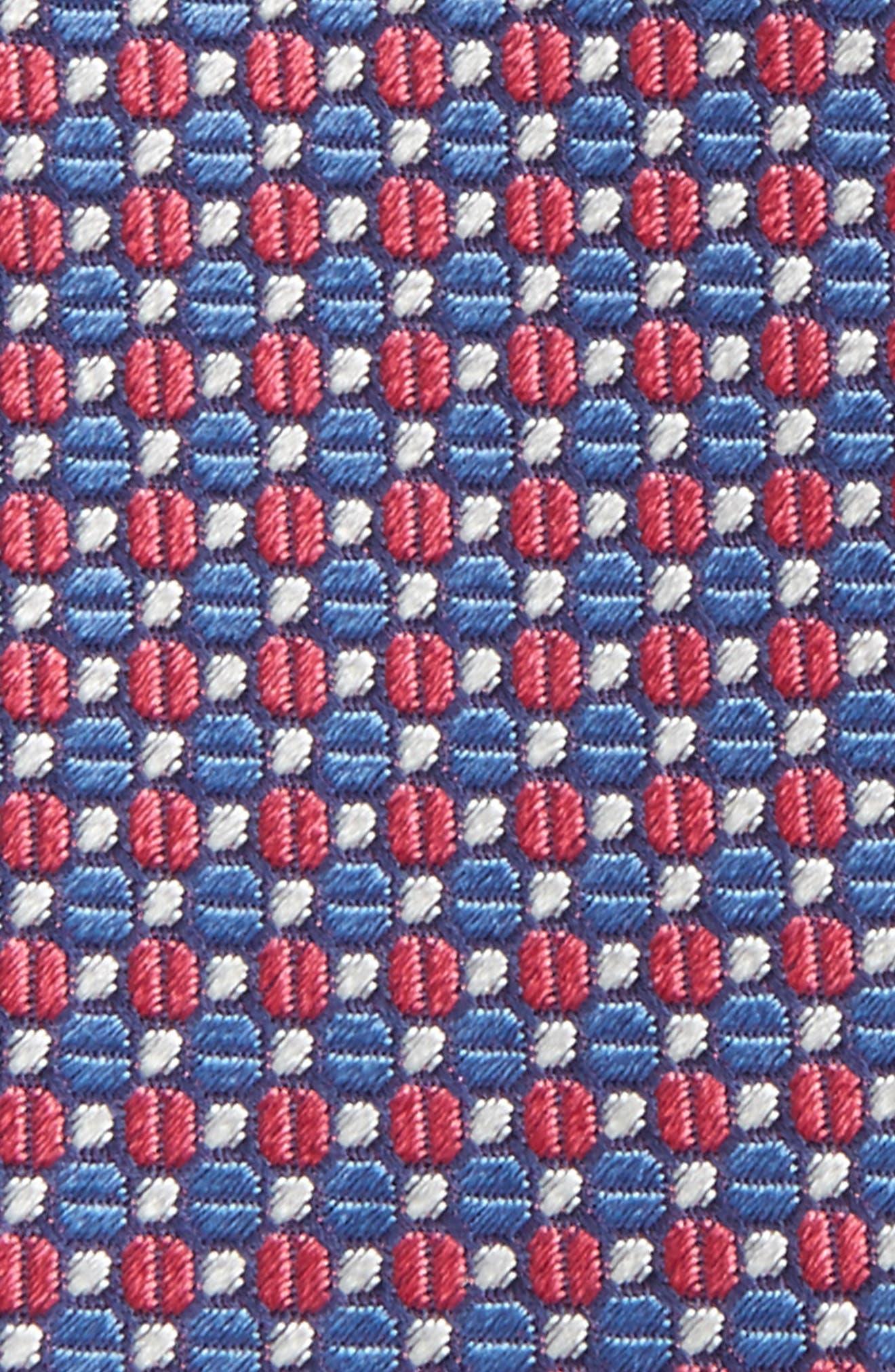 Geometric Silk Bow Tie,                             Alternate thumbnail 9, color,
