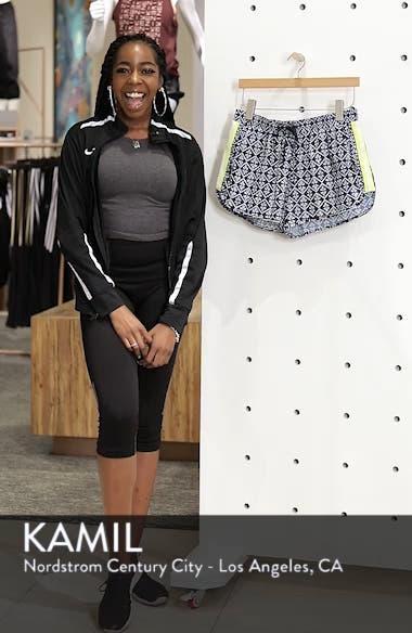 Ikat Neon Running Shorts, sales video thumbnail