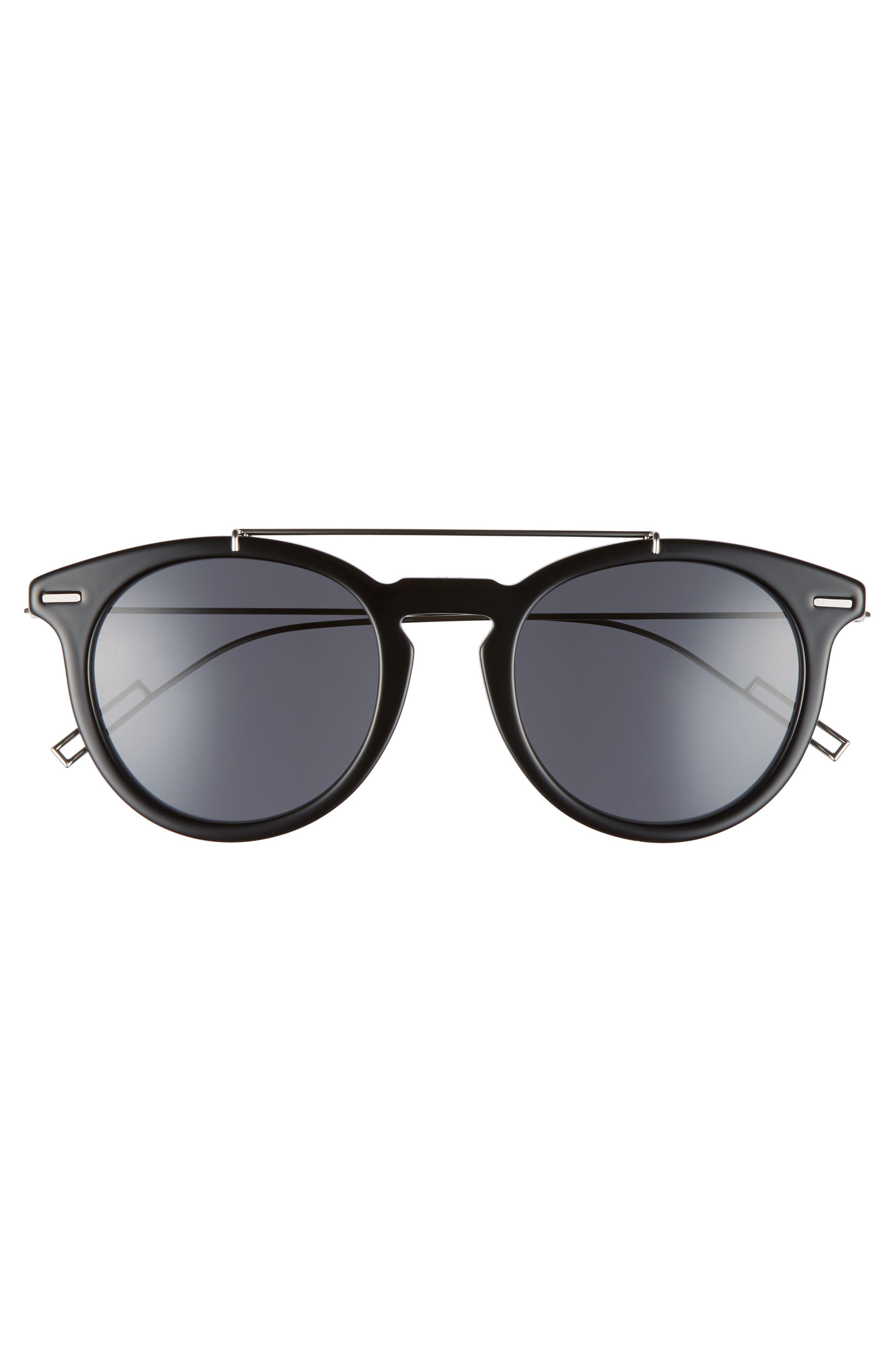 Master 51mm Sunglasses,                             Alternate thumbnail 2, color,                             BLACK