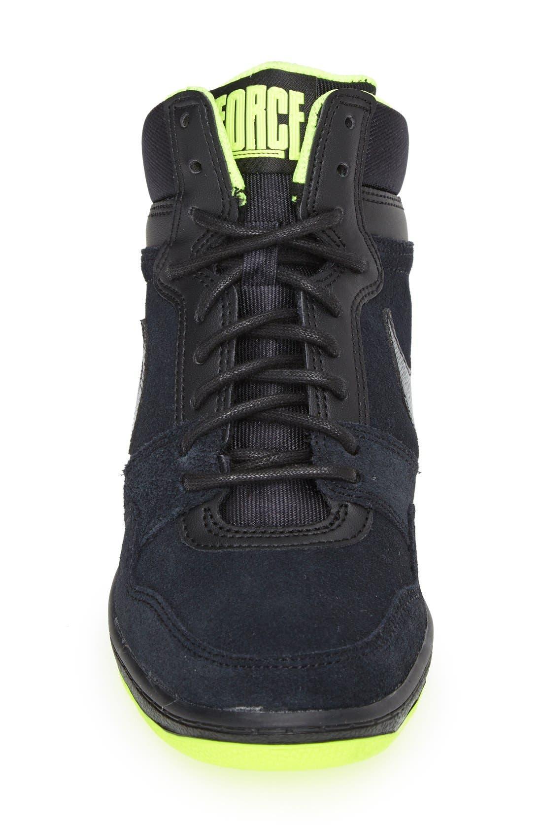 'Force Sky High' Sneaker,                             Alternate thumbnail 3, color,                             006