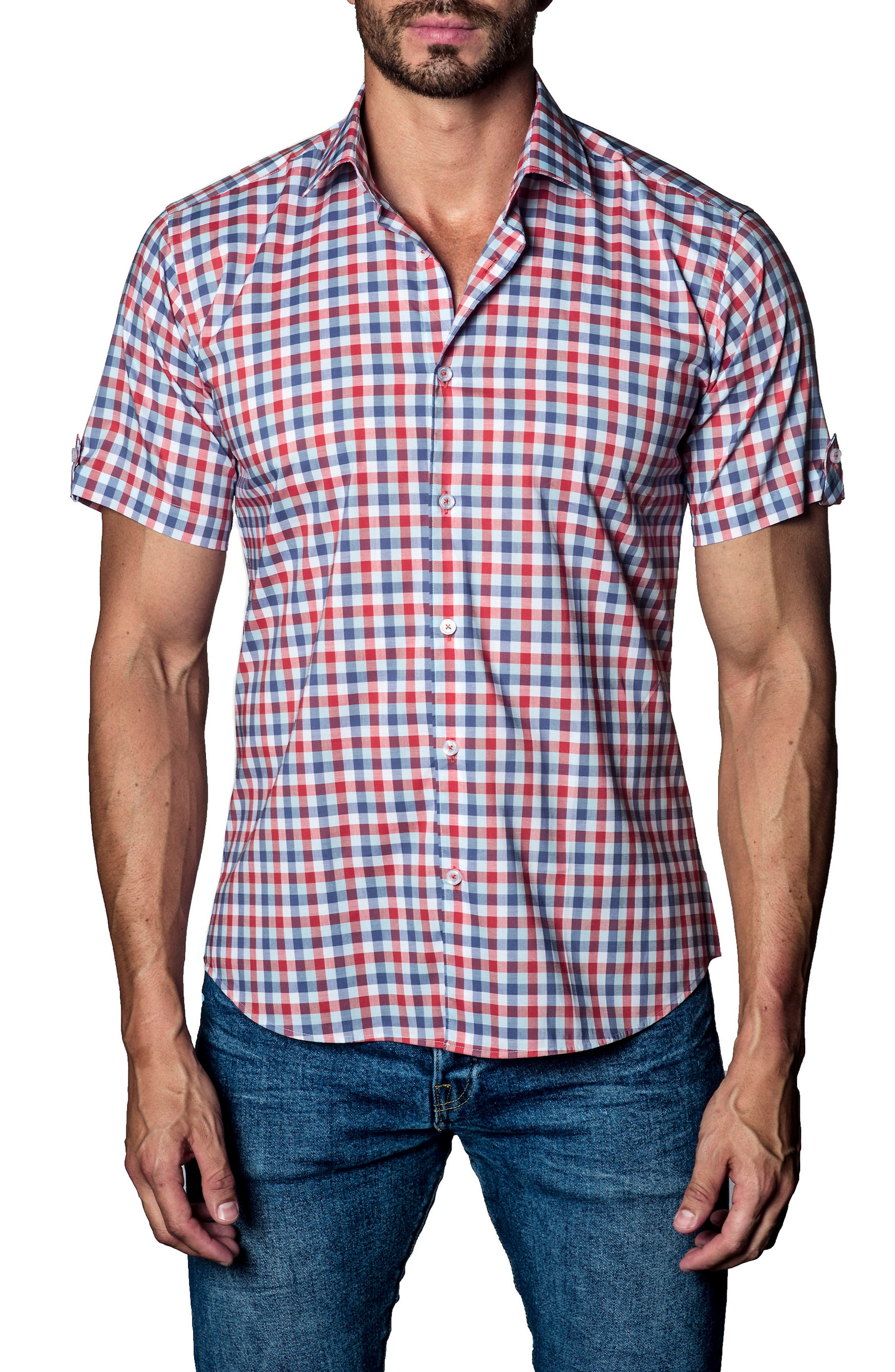 Check Sport Shirt,                         Main,                         color,