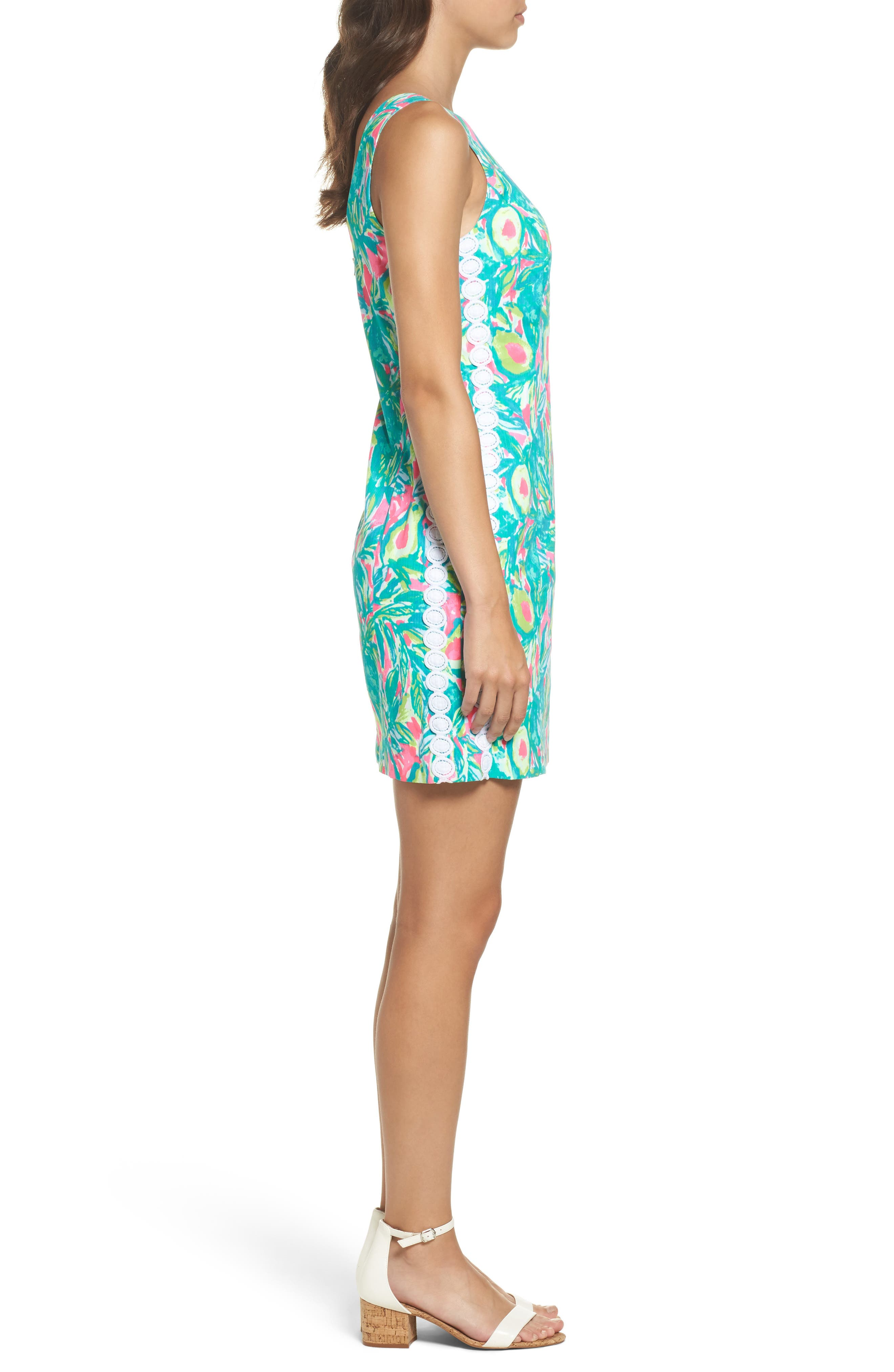 Mila Sheath Dress,                             Alternate thumbnail 3, color,                             697