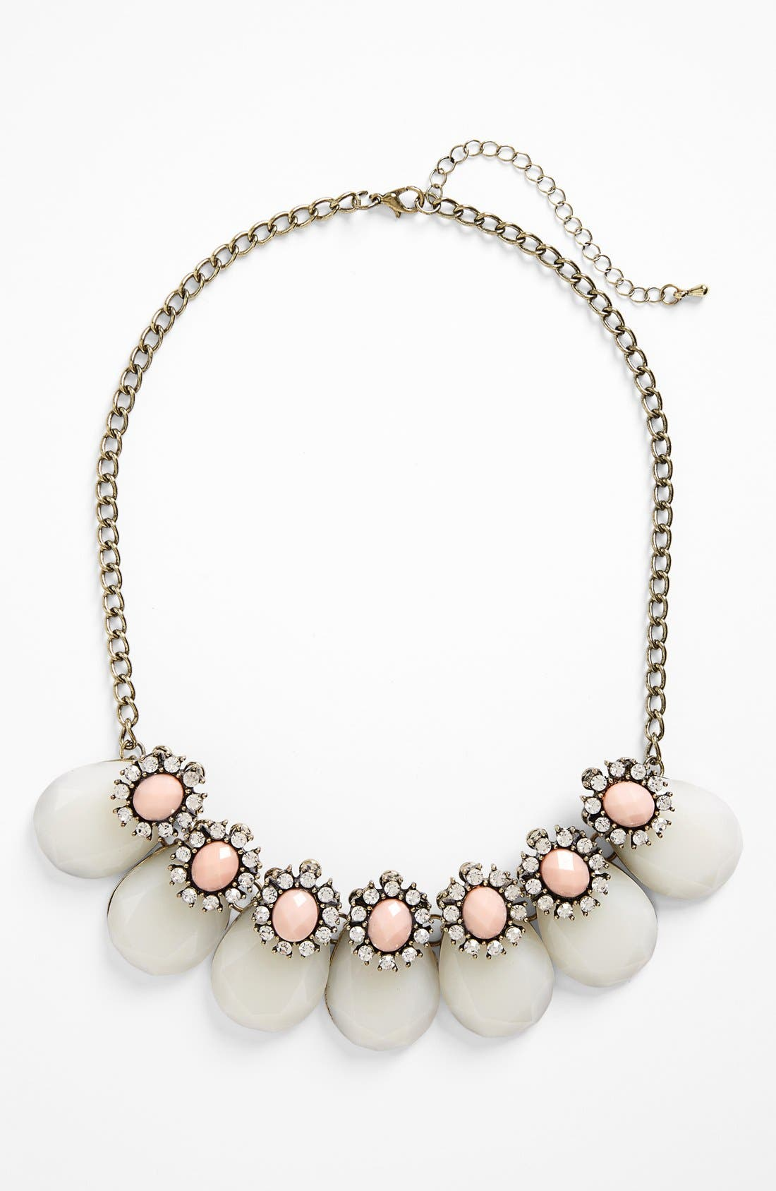 Teardrop Frontal Necklace,                             Main thumbnail 2, color,