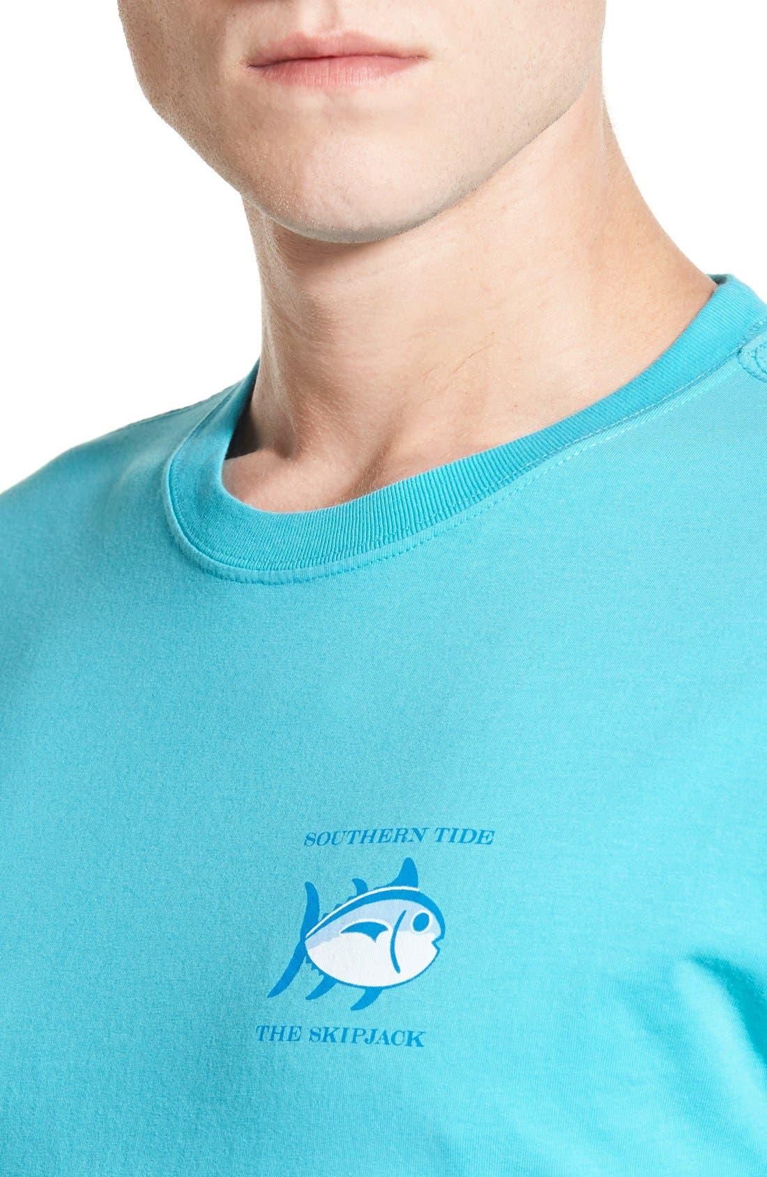 'Skipjack'Long Sleeve Graphic T-Shirt,                             Alternate thumbnail 40, color,