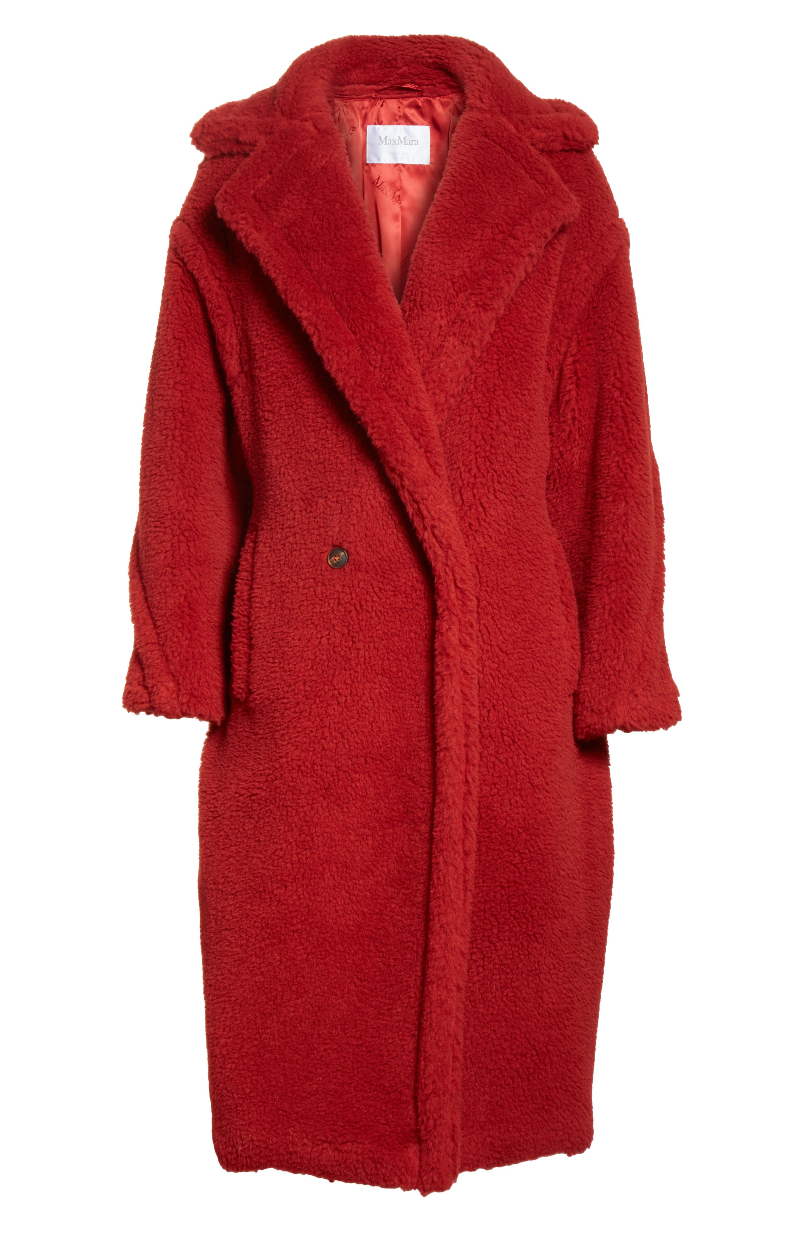 Pappino Camel Hair & Silk Coat,                             Alternate thumbnail 5, color,                             614