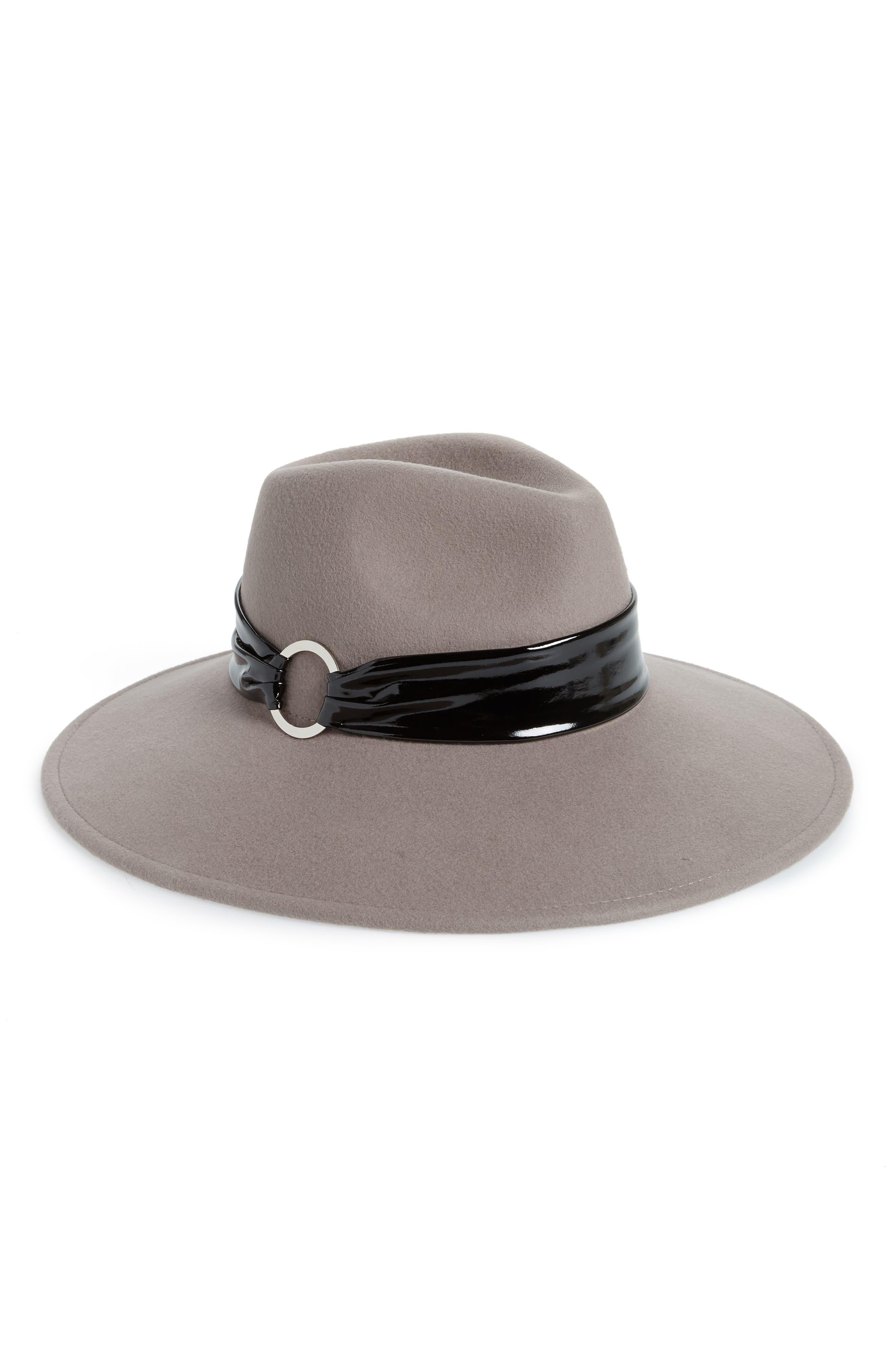 GENIE BY EUGENIA KIM Naomi Felted Wool Hat - Purple in Mink