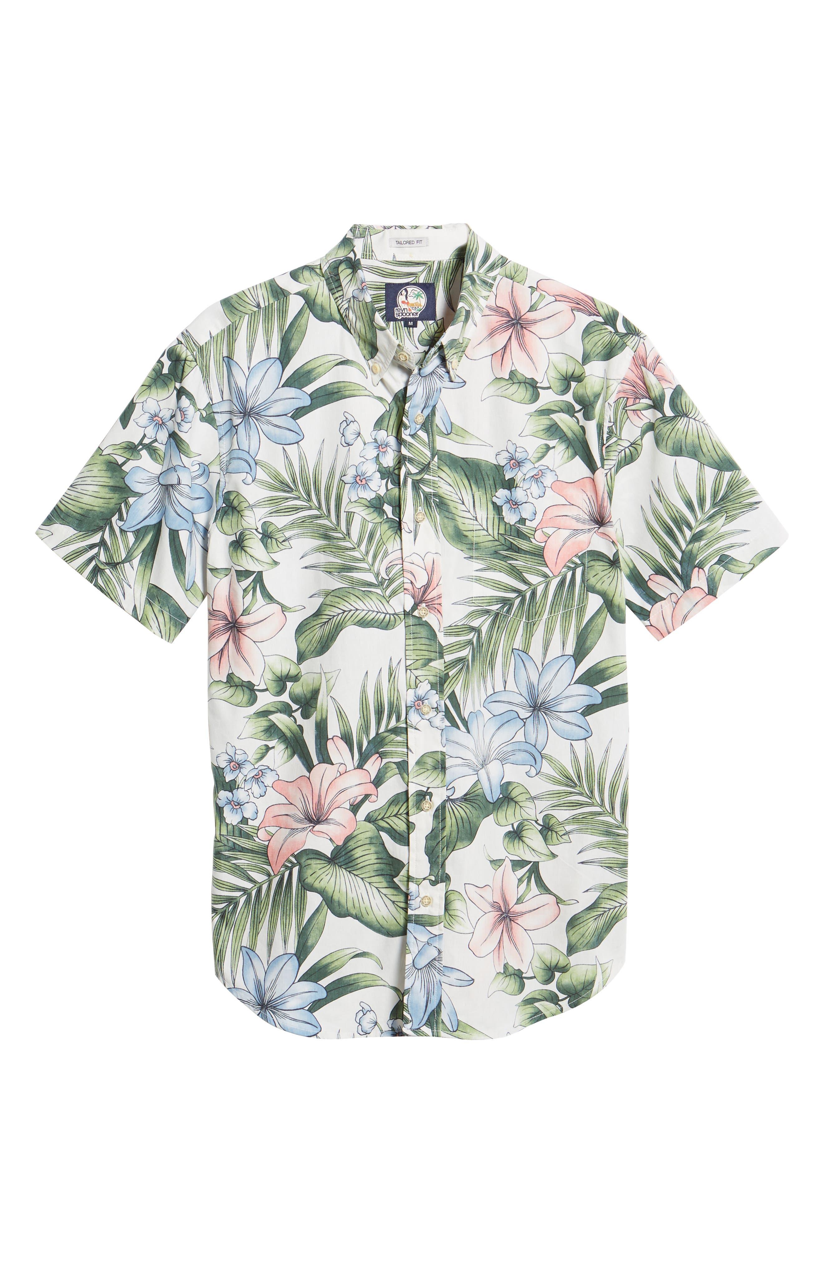 Uluhehi Regular Fit Sport Shirt,                             Alternate thumbnail 5, color,                             104
