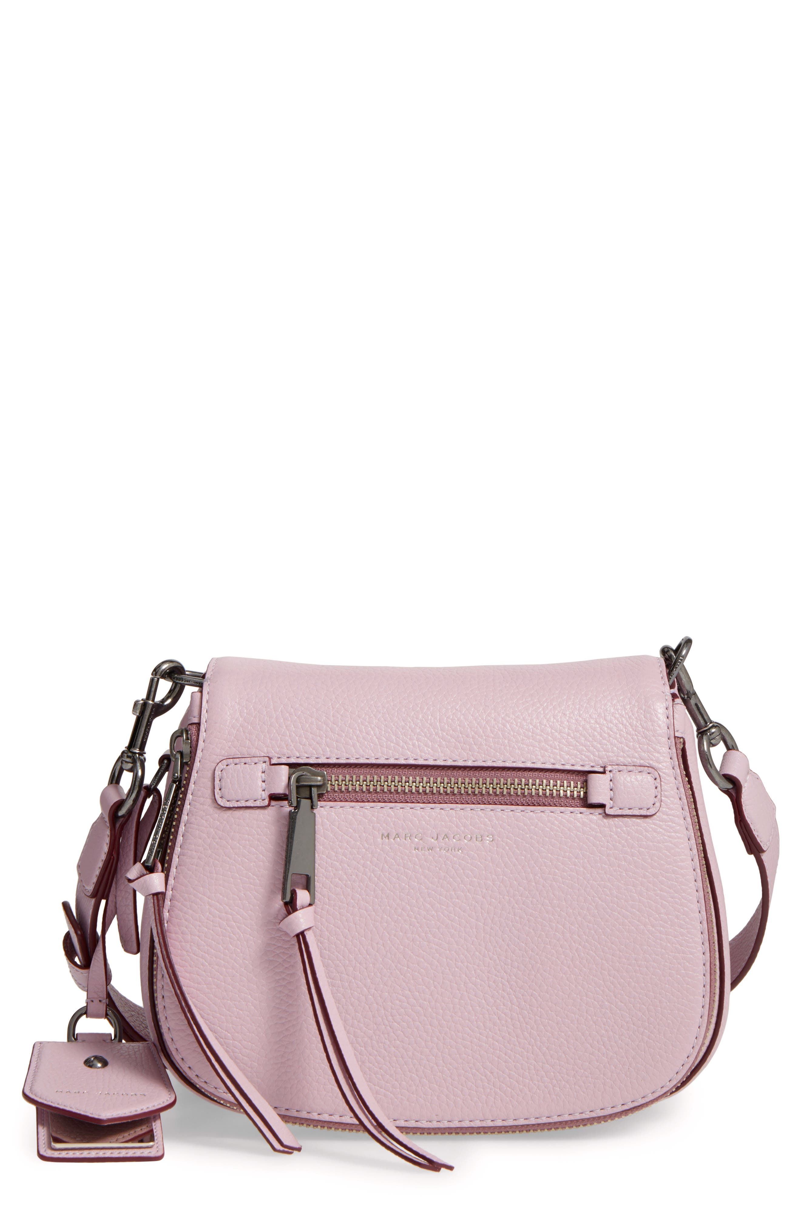 Small Recruit Nomad Pebbled Leather Crossbody Bag,                             Main thumbnail 11, color,
