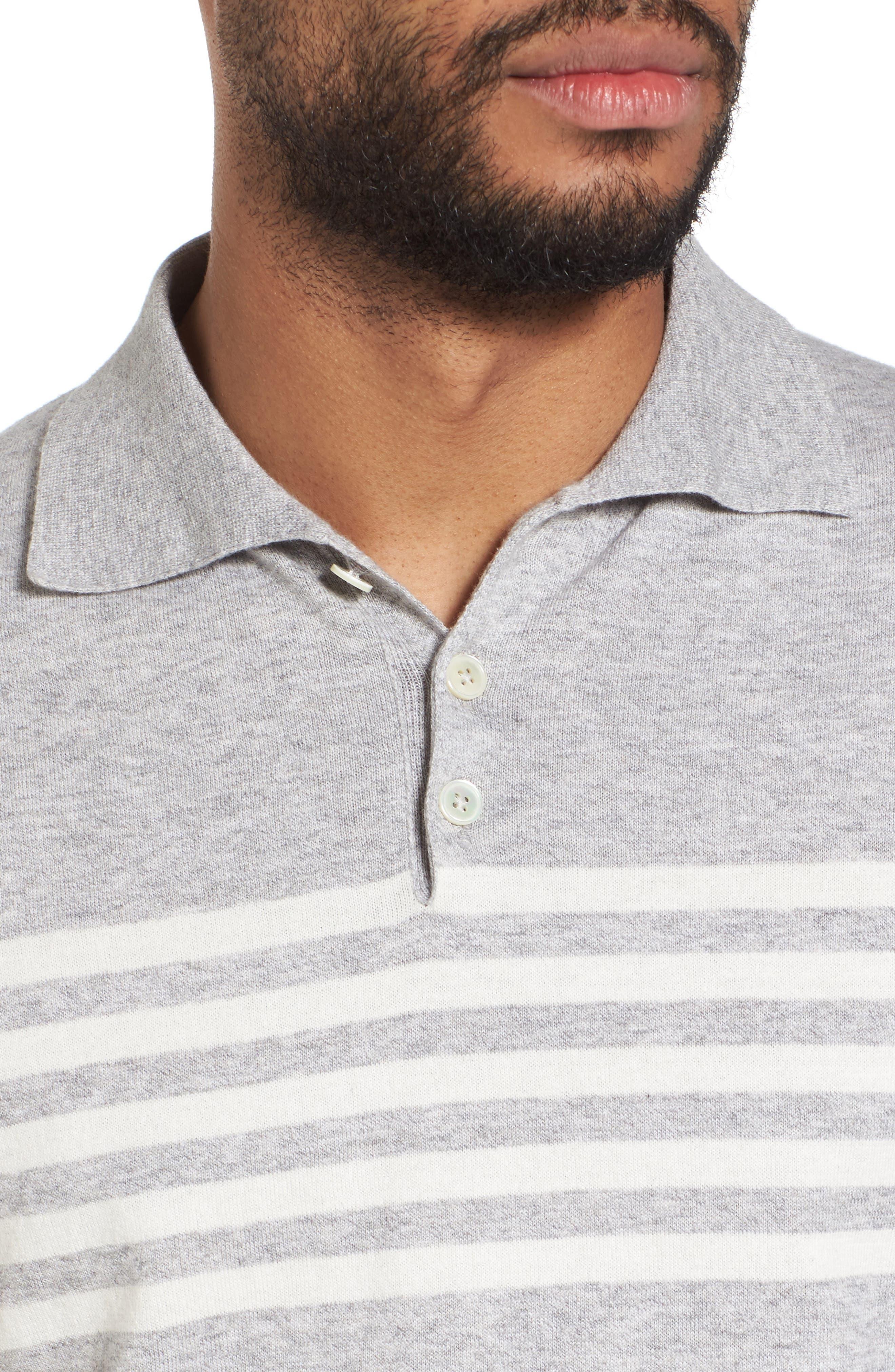 Stripe Sweater,                             Alternate thumbnail 4, color,                             020