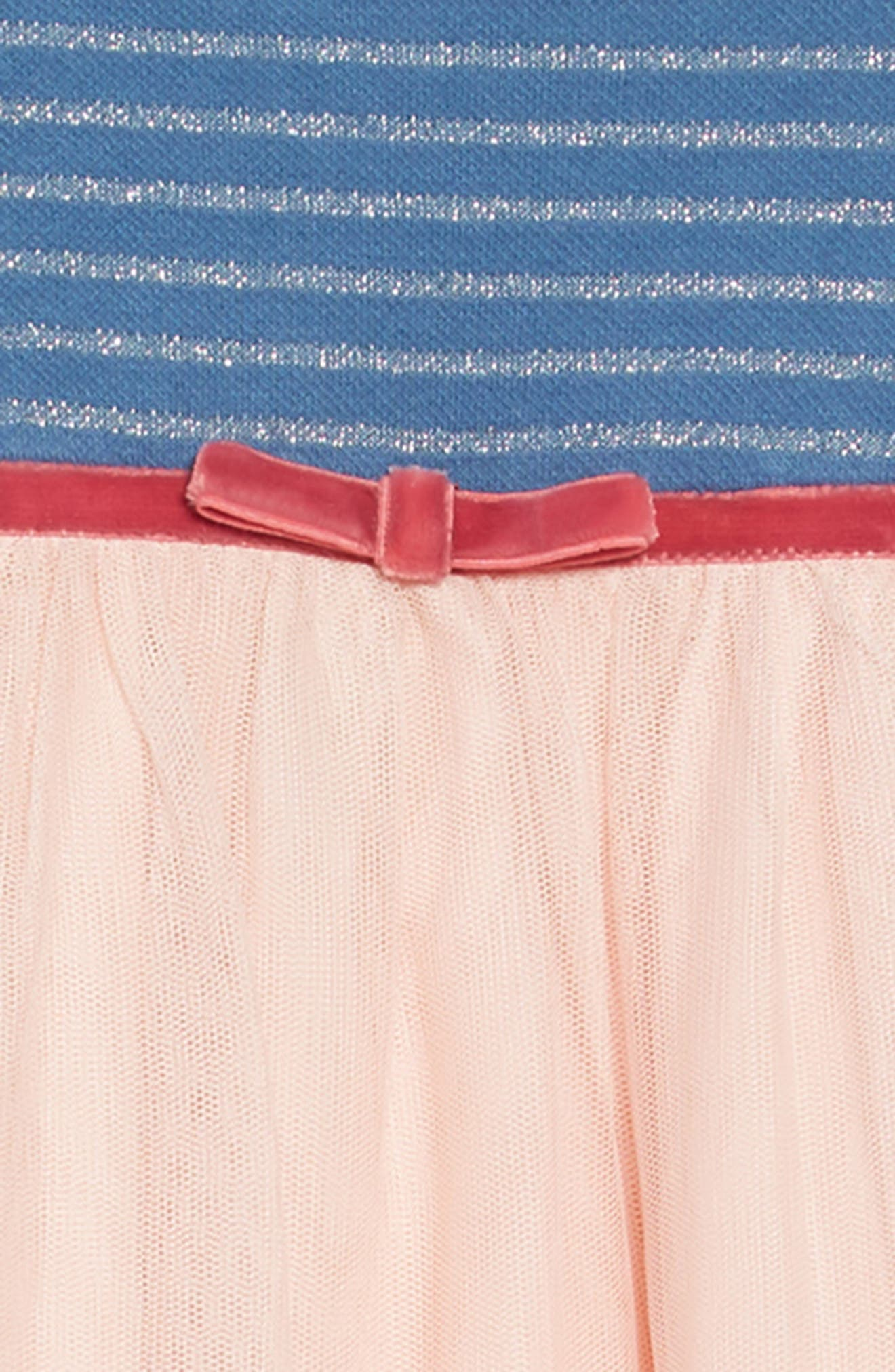 Magical Tulle Dress,                             Alternate thumbnail 3, color,                             PNK PROVENCE DUSTY PINK LLAMA