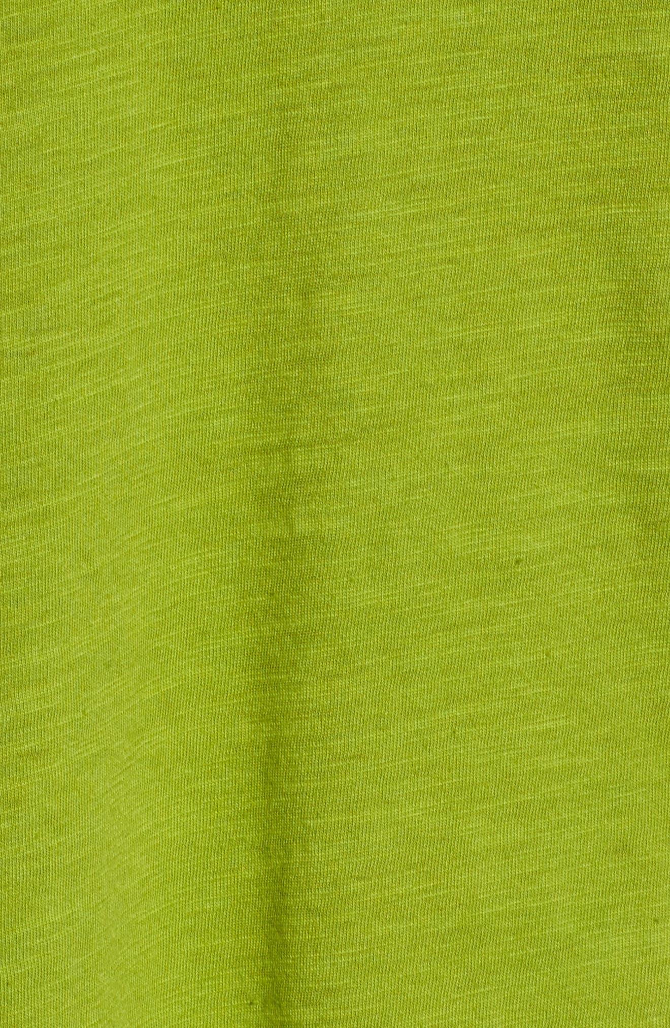 Organic Cotton V-Neck Tee,                             Alternate thumbnail 35, color,