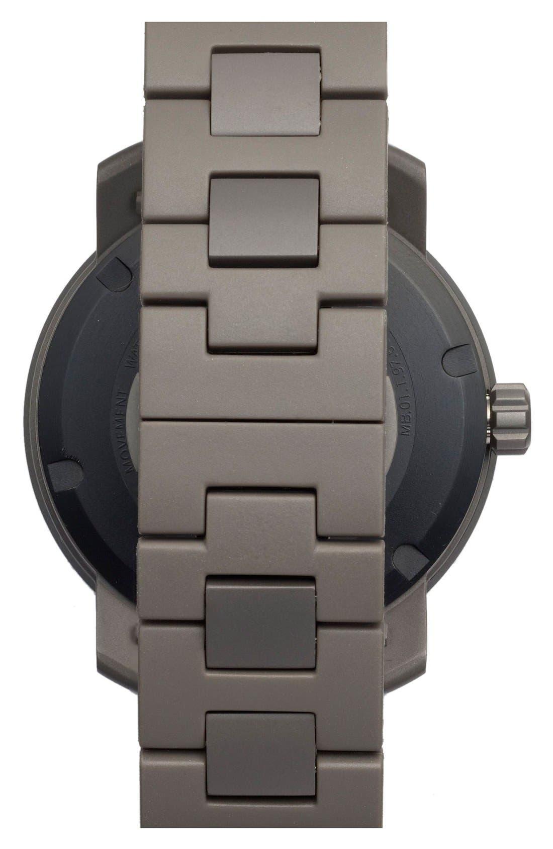 'Bold' Bracelet Watch, 46mm,                             Alternate thumbnail 4, color,