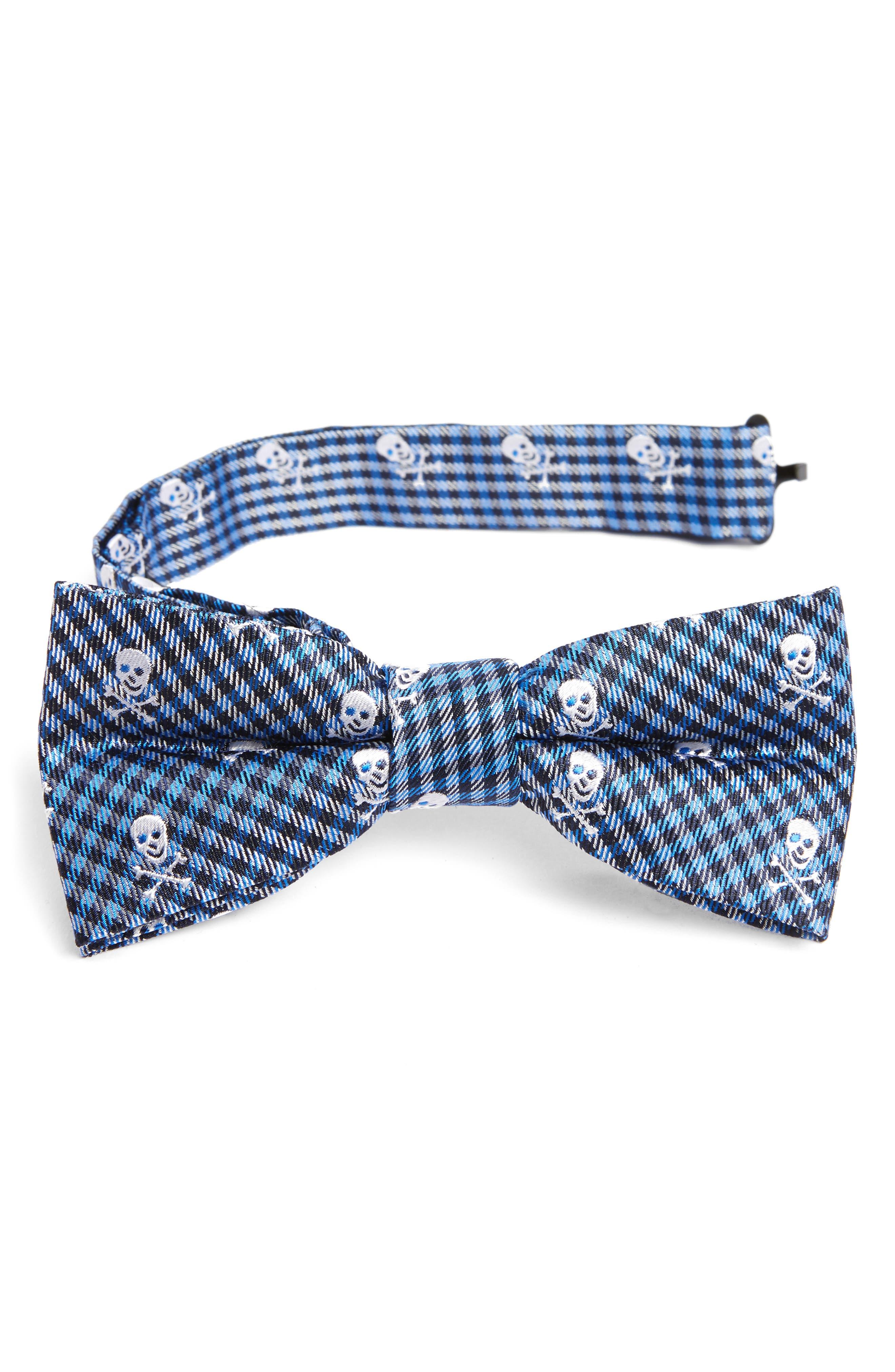 Silk Bow Tie,                         Main,                         color, 475