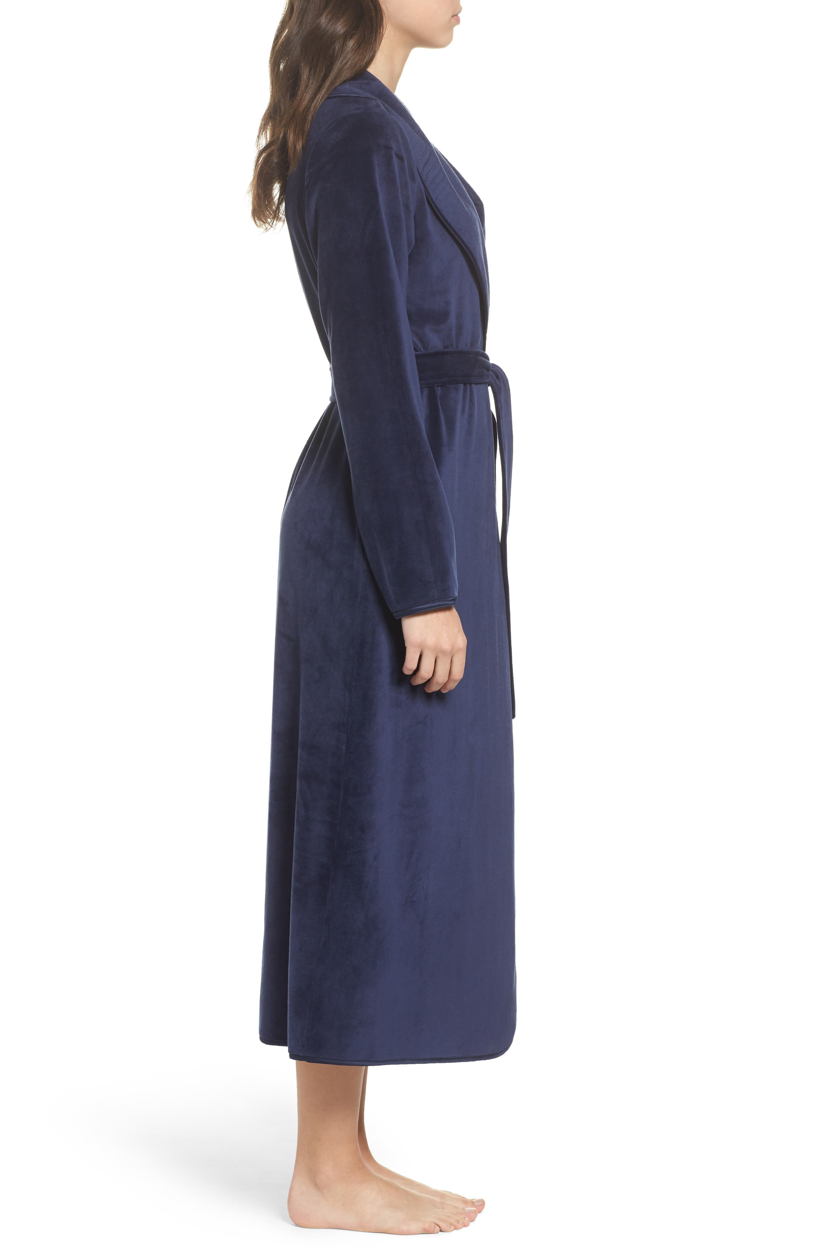 Luxe Shawl Robe,                             Alternate thumbnail 8, color,