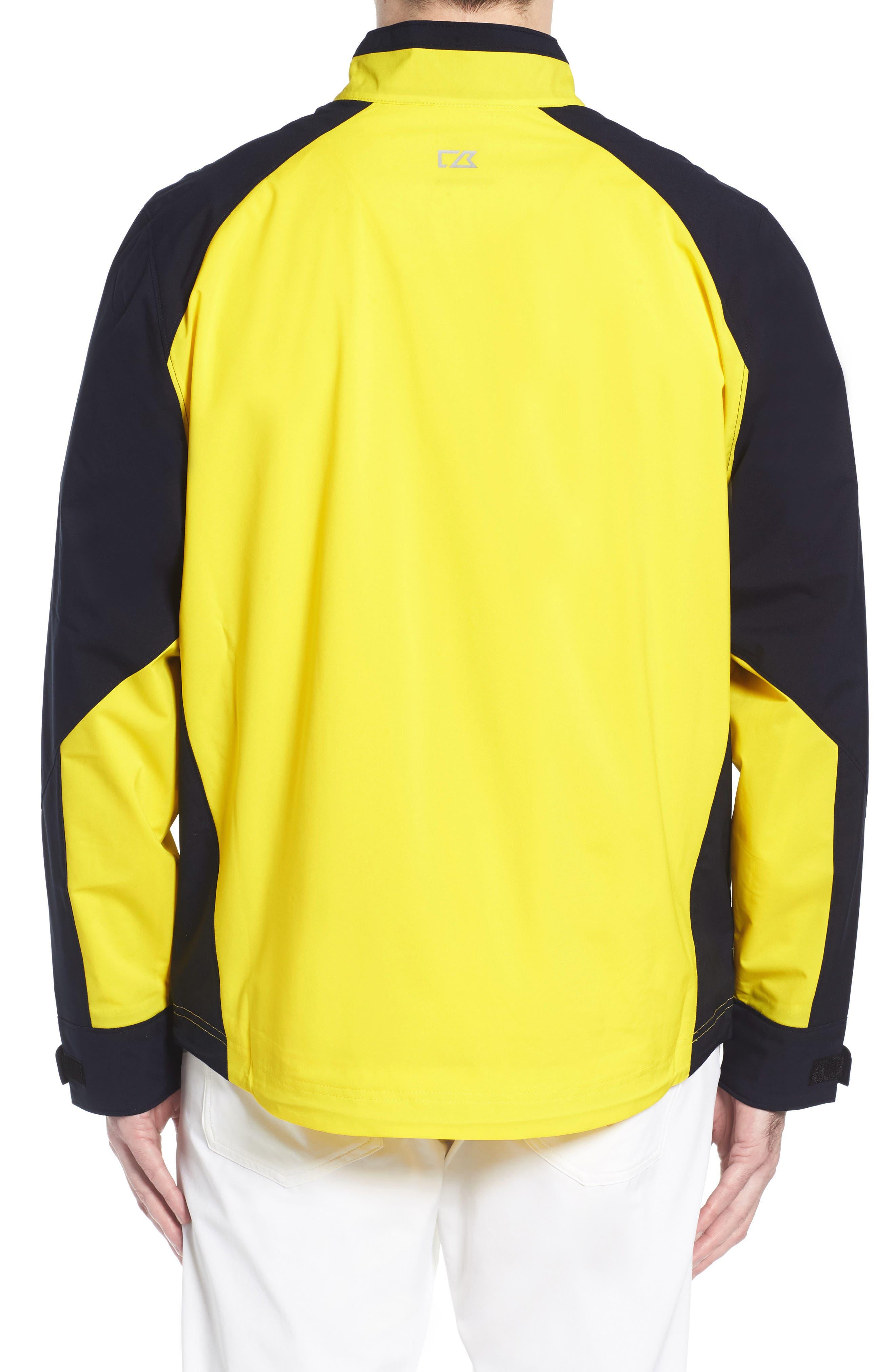 'Summit' WeatherTec Wind & Water Resistant Half Zip Jacket,                             Alternate thumbnail 2, color,                             GALAXY