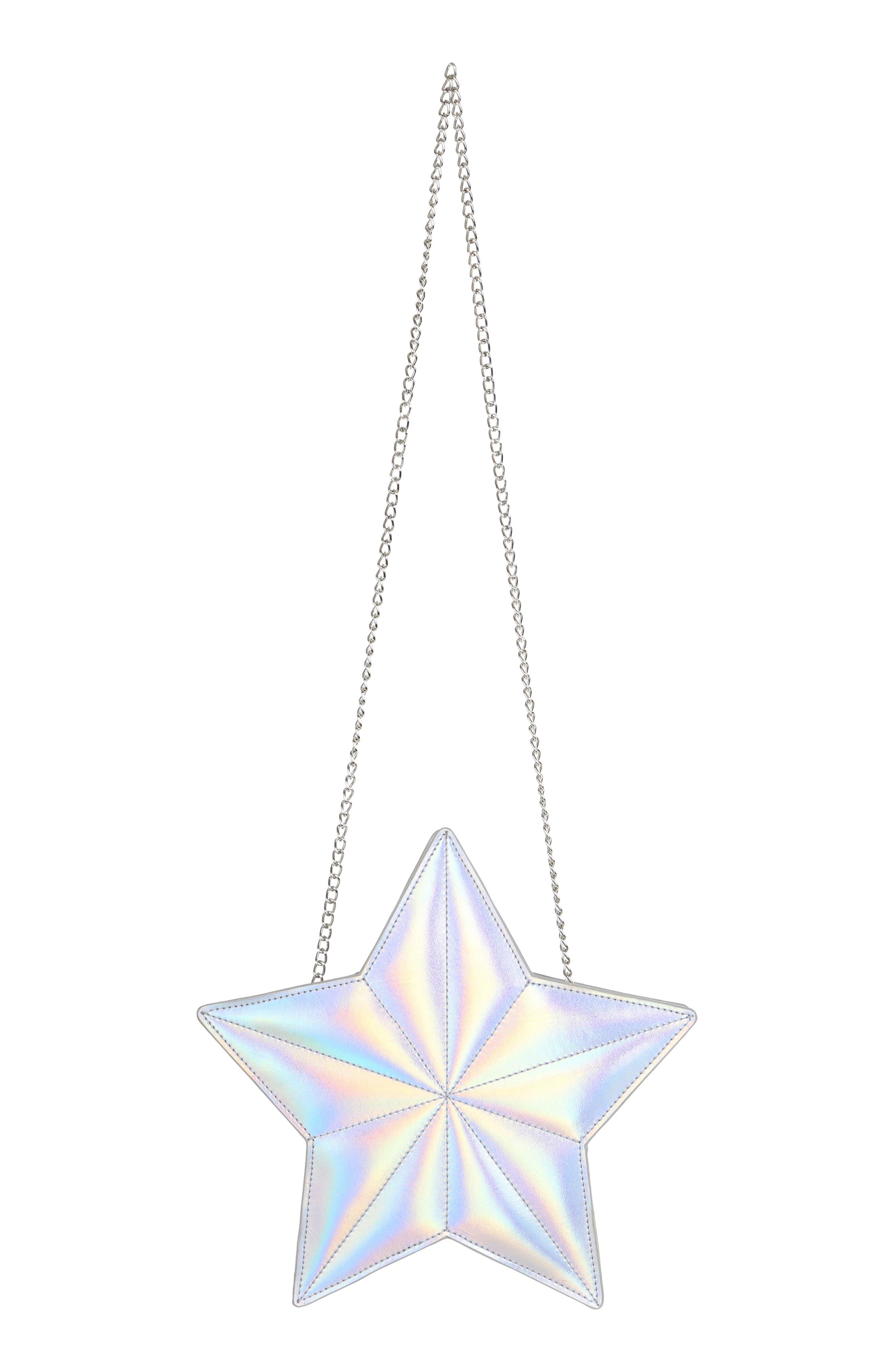 Silver Star Shoulder Bag,                             Main thumbnail 1, color,                             040