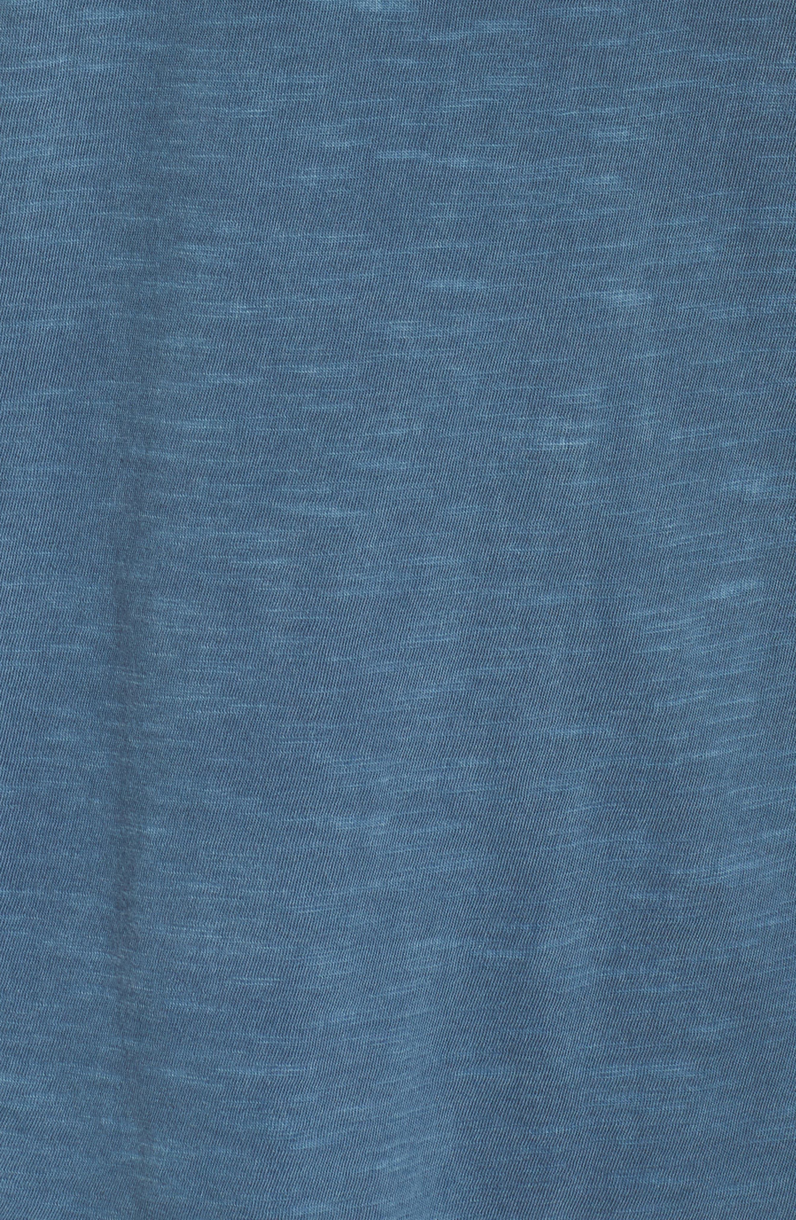 Inside Out Muscle Tee,                             Alternate thumbnail 5, color,                             MINERAL BLUE PIGMENT