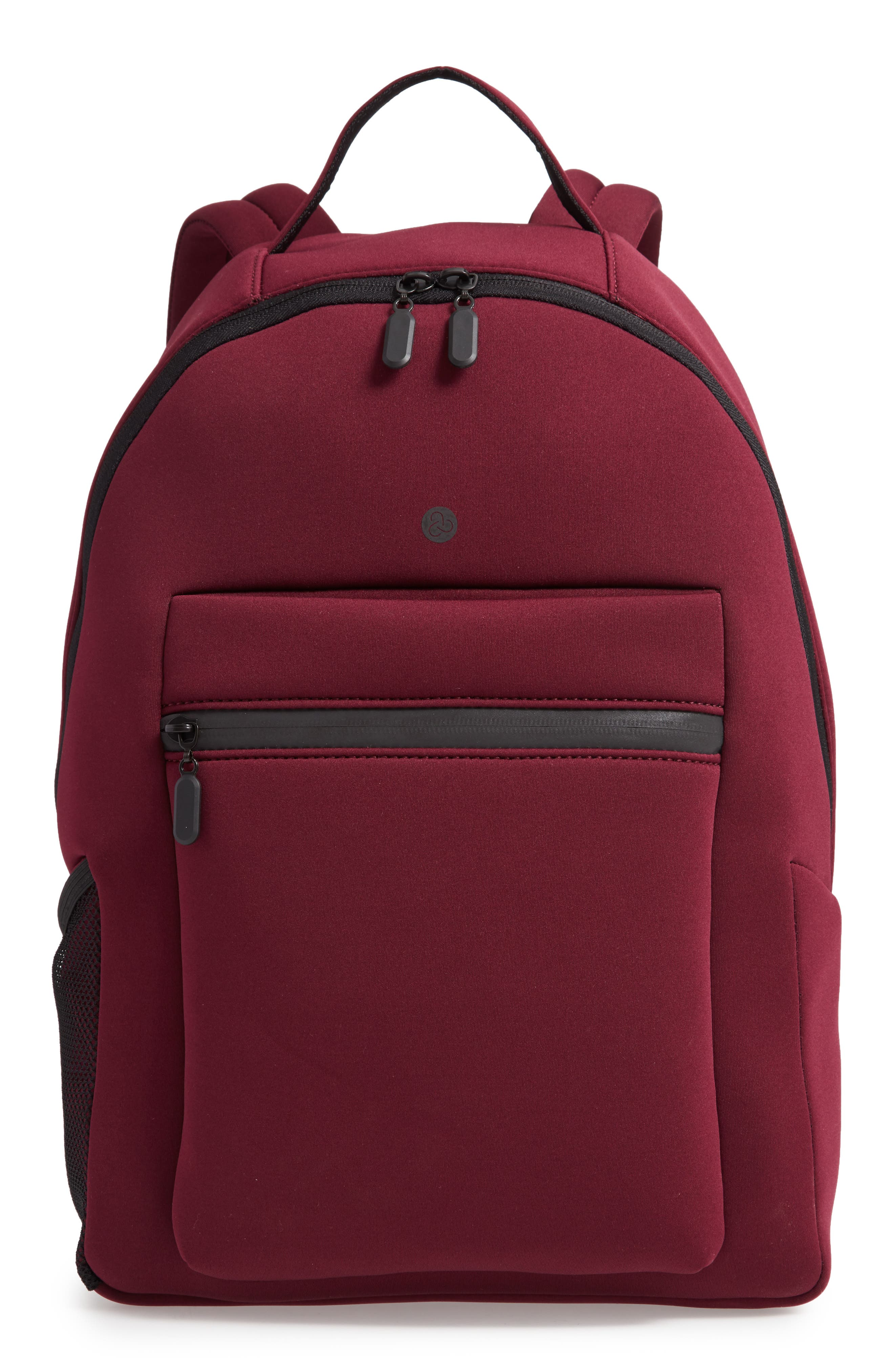Baseline Backpack, Main, color, RED TANNIN