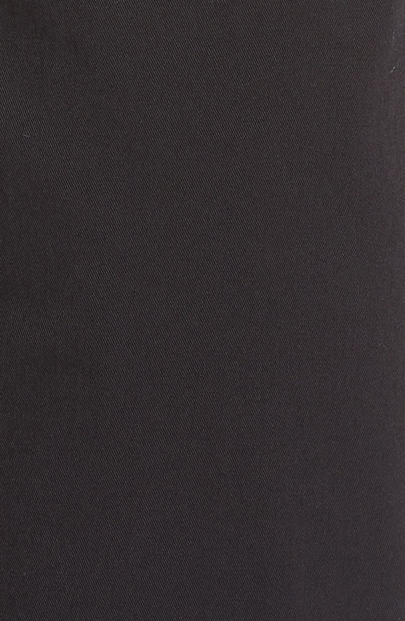 Cordura Slim Fit Cargo Pants,                             Alternate thumbnail 5, color,                             BLACK