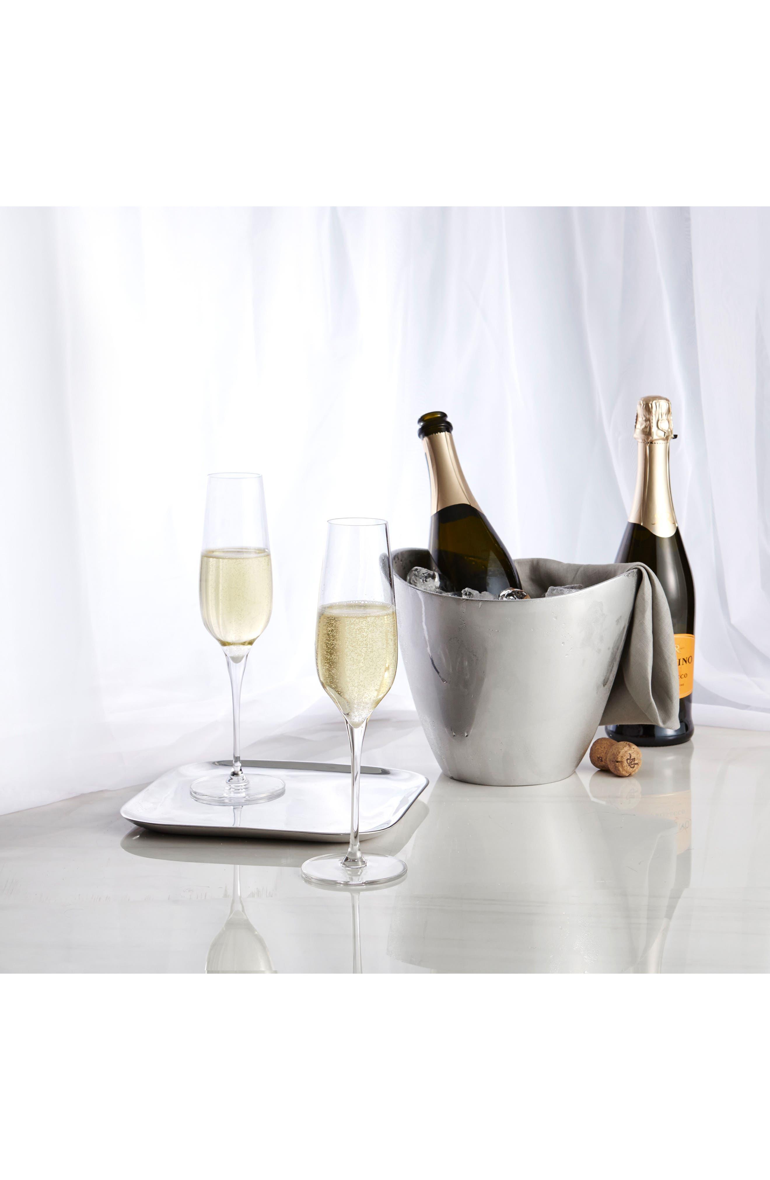 Vie Set of 2 Champagne Flutes,                             Alternate thumbnail 3, color,                             100
