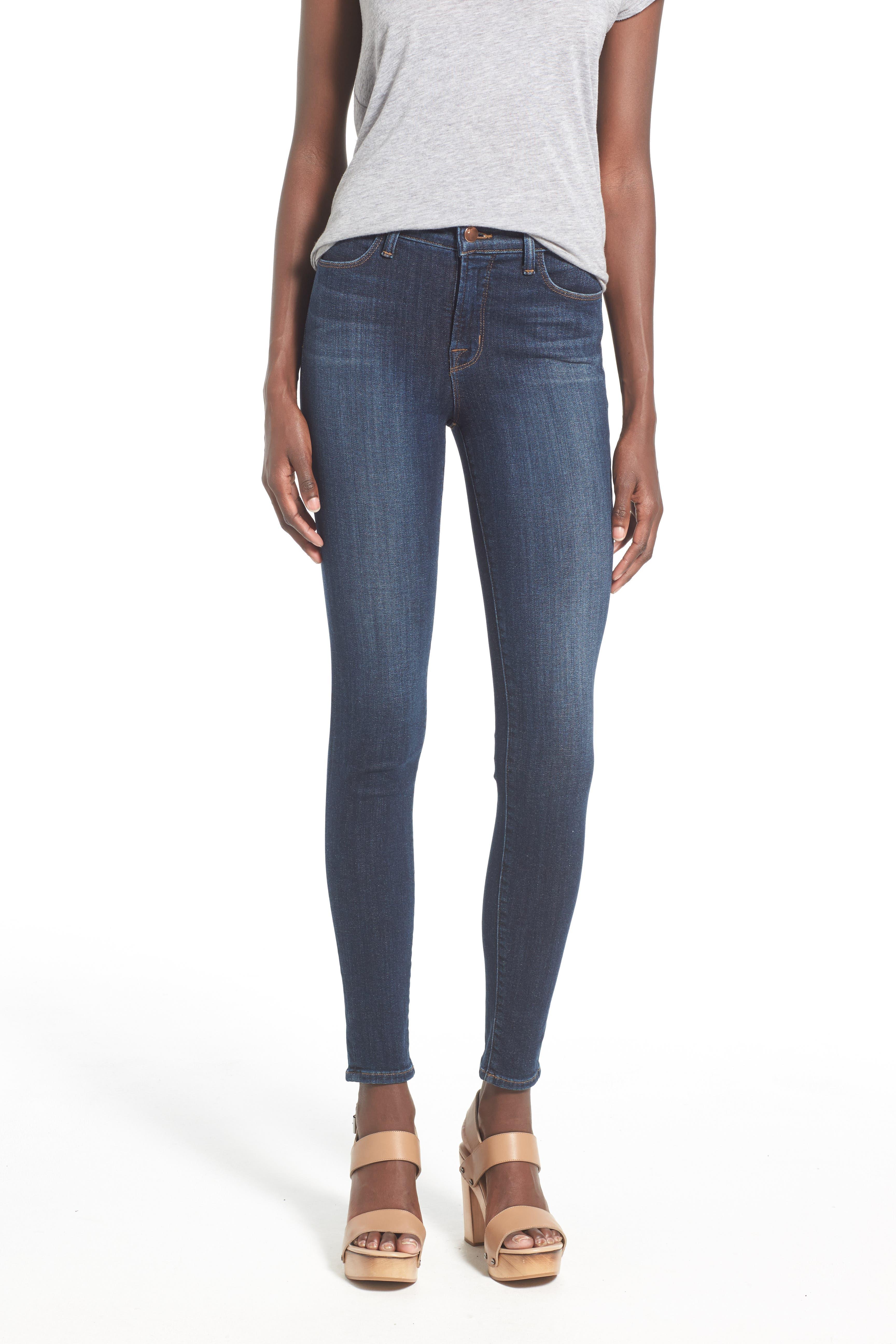 'Maria' Skinny Jeans,                             Alternate thumbnail 3, color,                             407