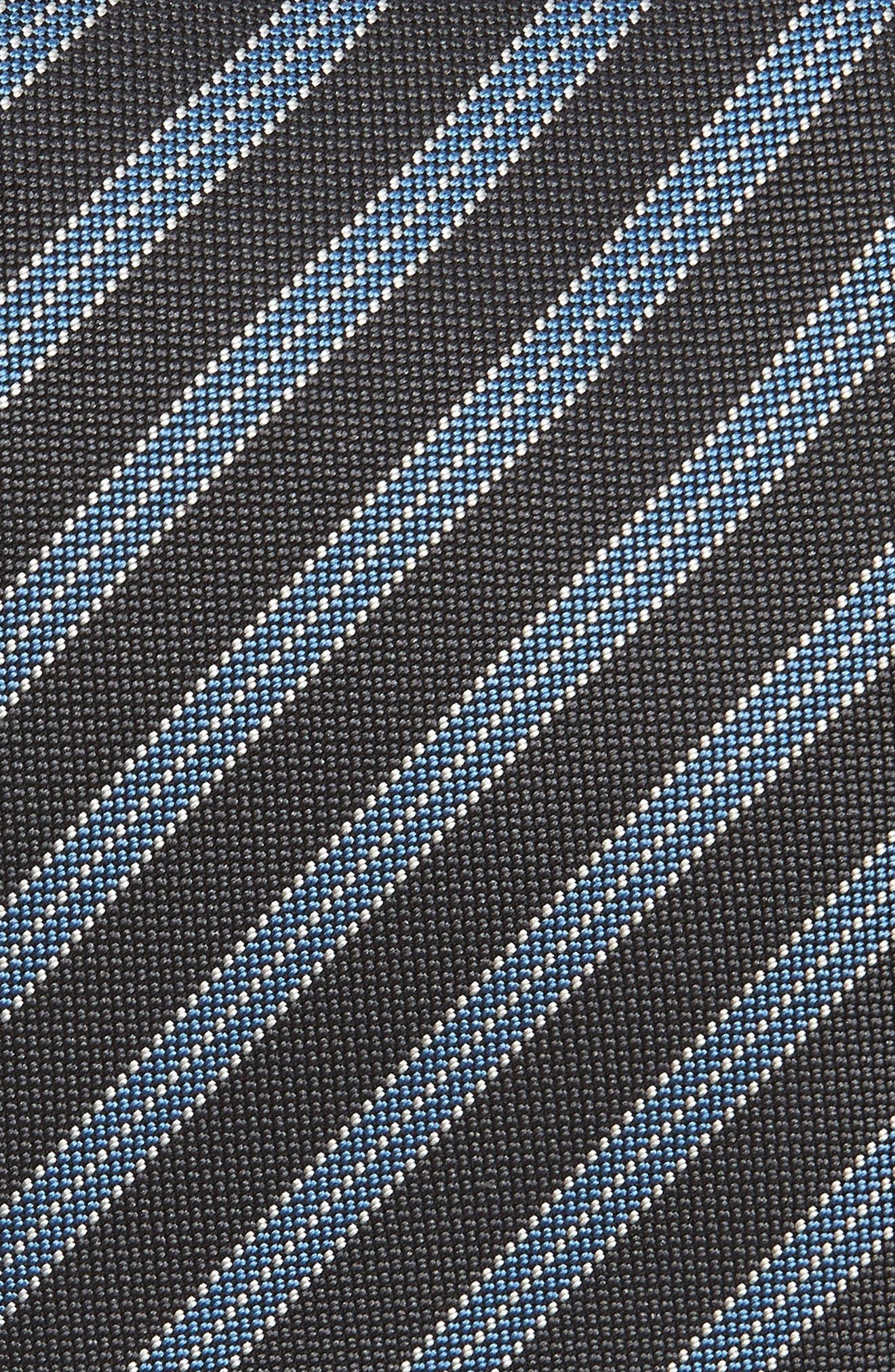 Stripe Silk Tie,                             Alternate thumbnail 2, color,                             020
