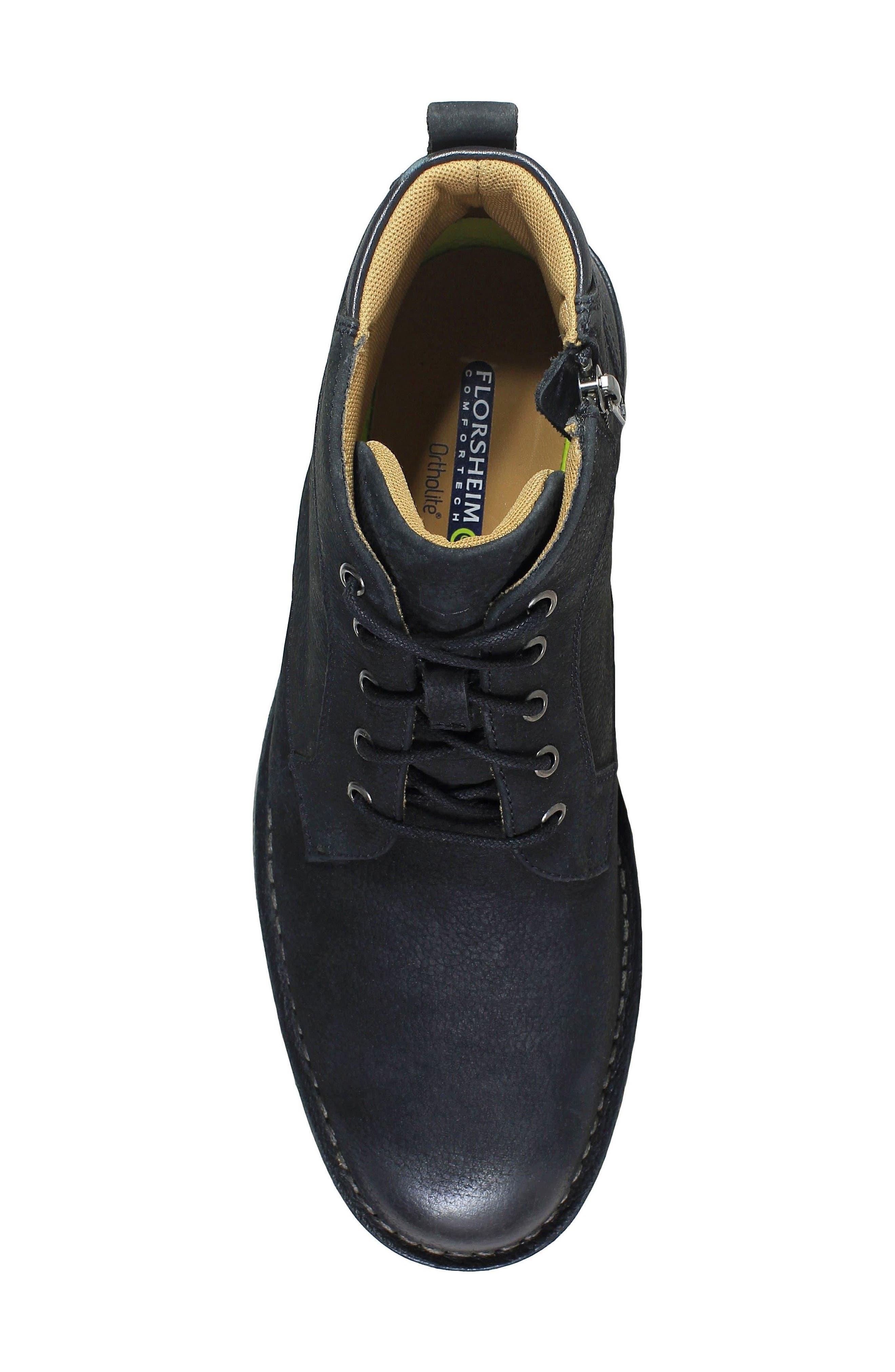 Navigator Plain Toe Boot,                             Alternate thumbnail 5, color,                             006