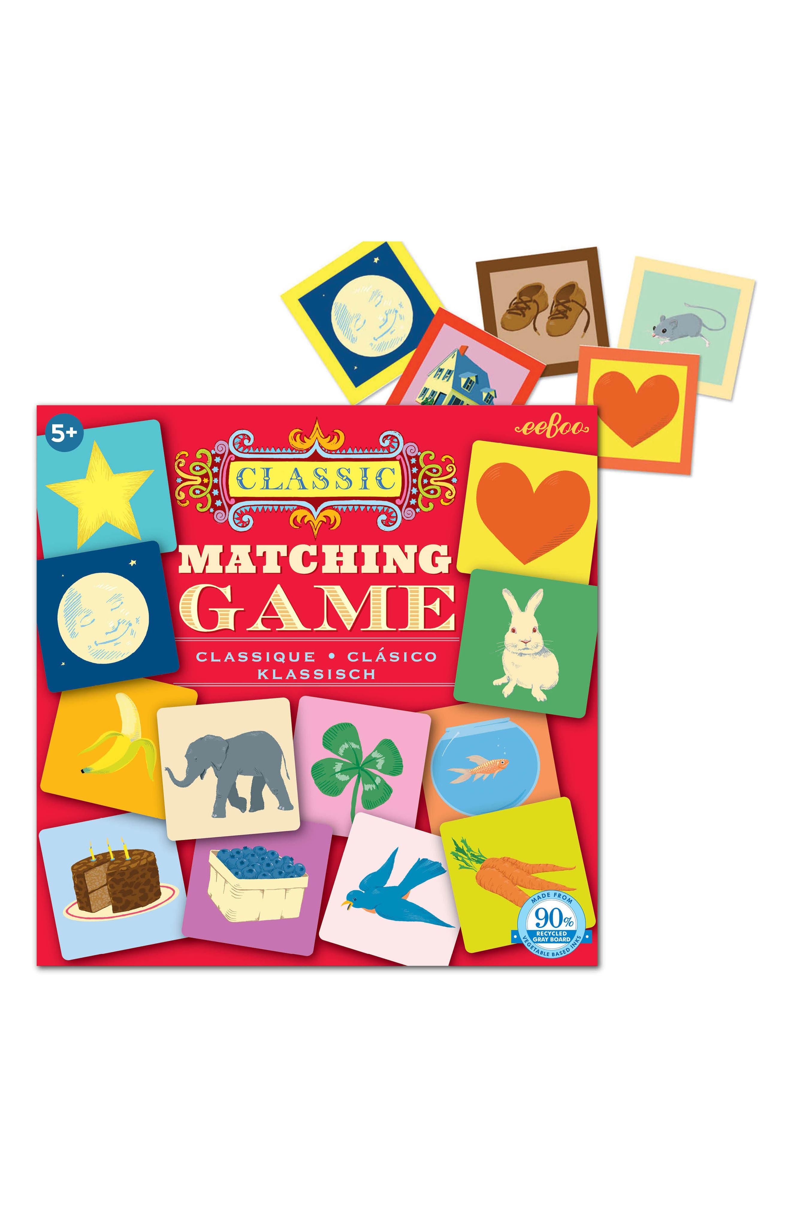Matching Game,                             Alternate thumbnail 2, color,                             600