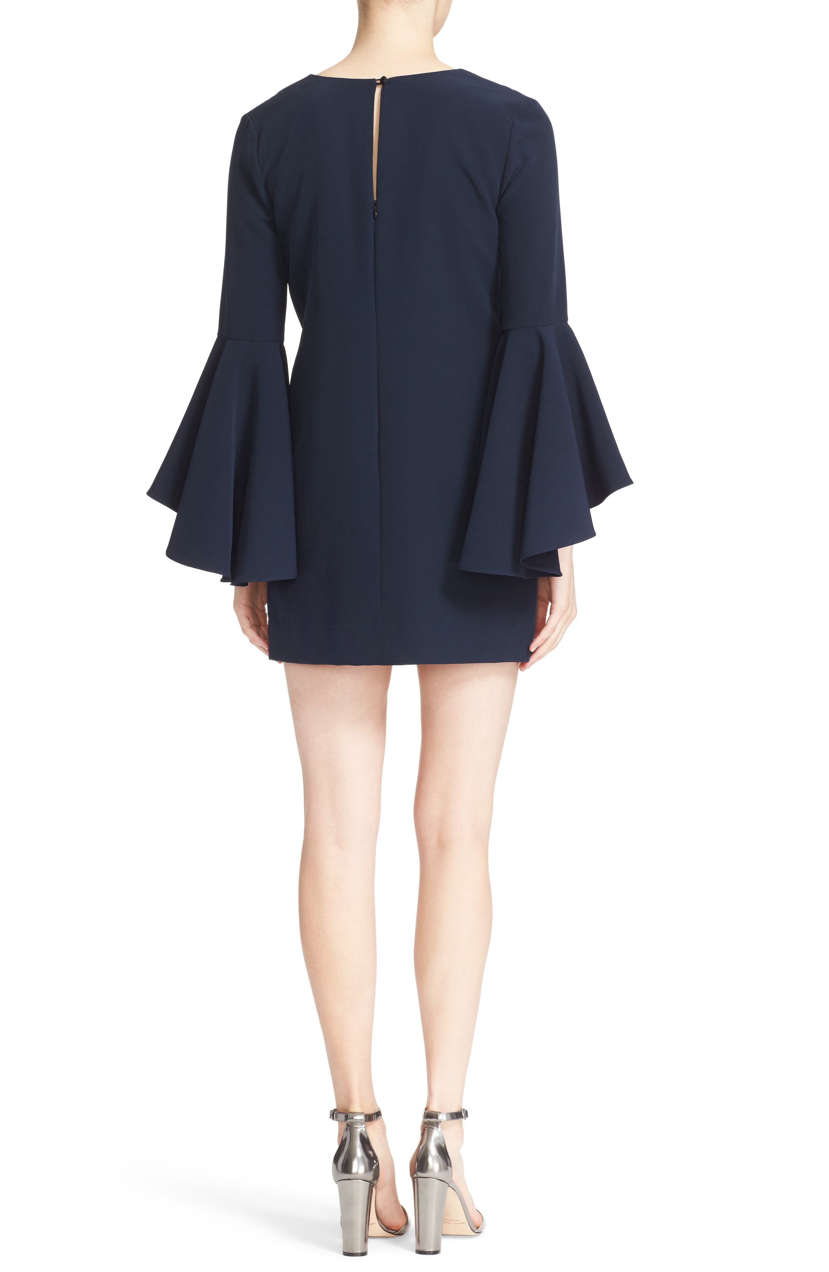 Nicole Bell Sleeve Dress,                             Alternate thumbnail 22, color,