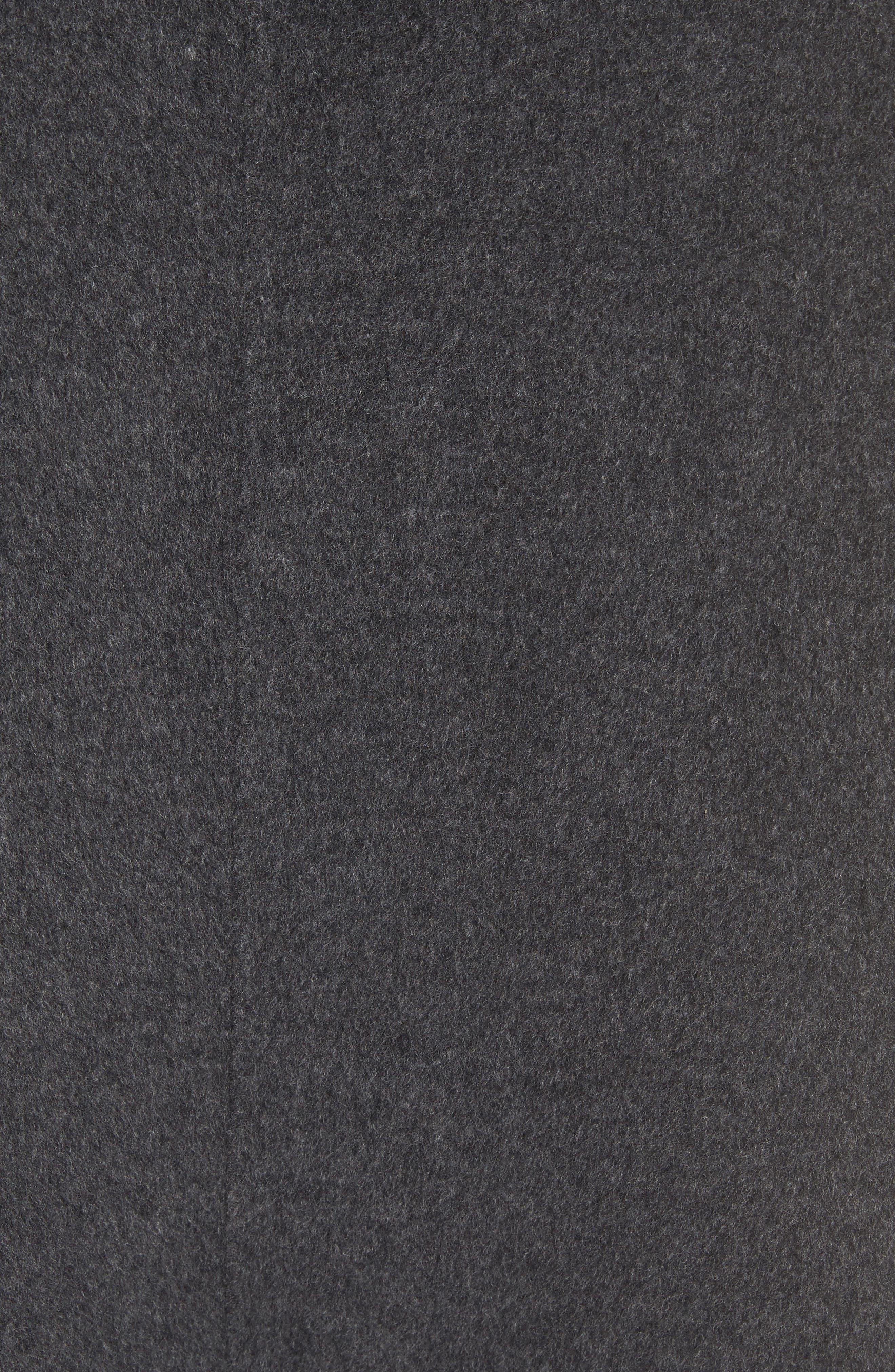 Double Face Wool & Cashmere Coat,                             Alternate thumbnail 6, color,                             060