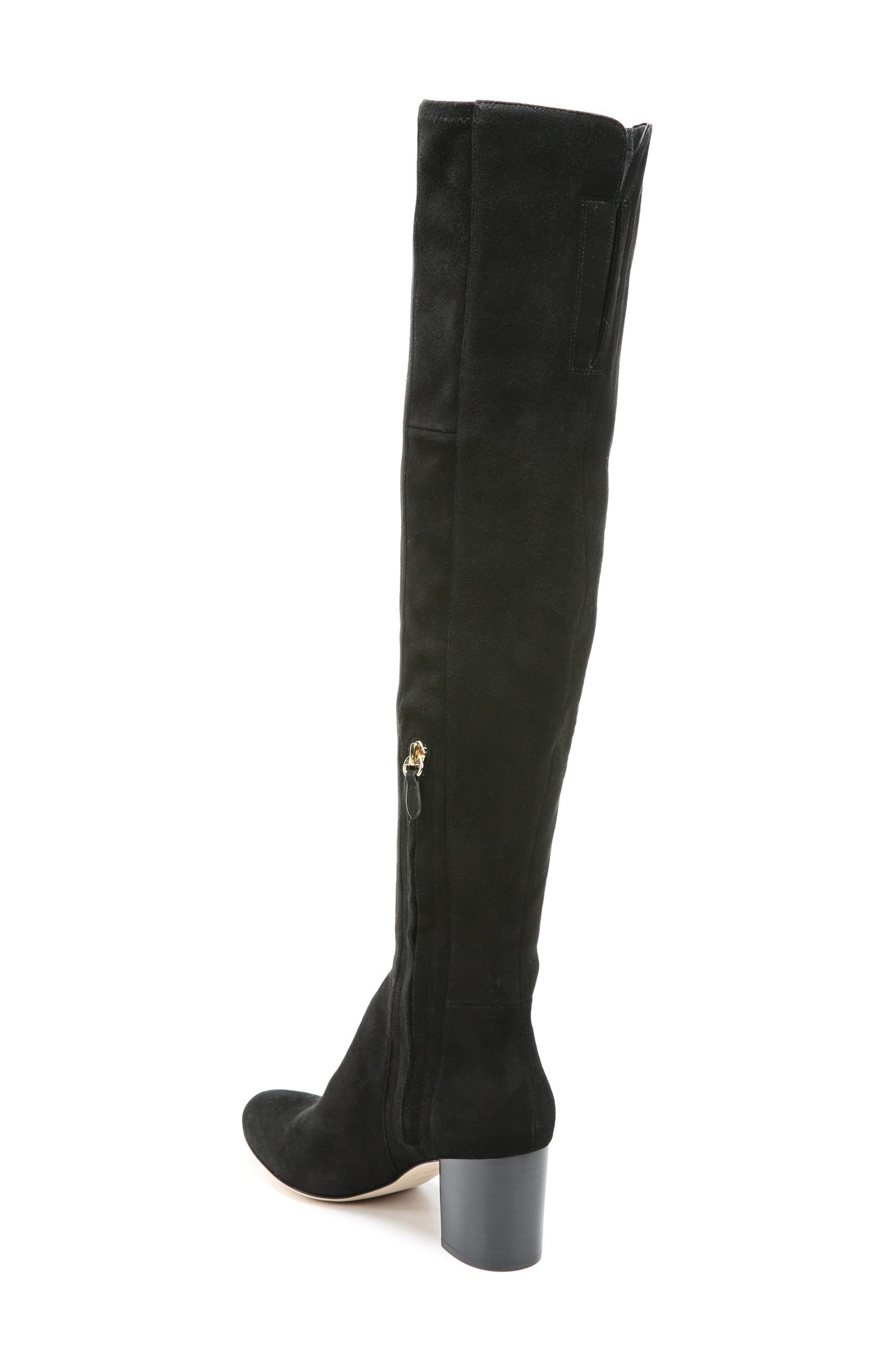 Luzzi Over the Knee Boot,                             Alternate thumbnail 4, color,
