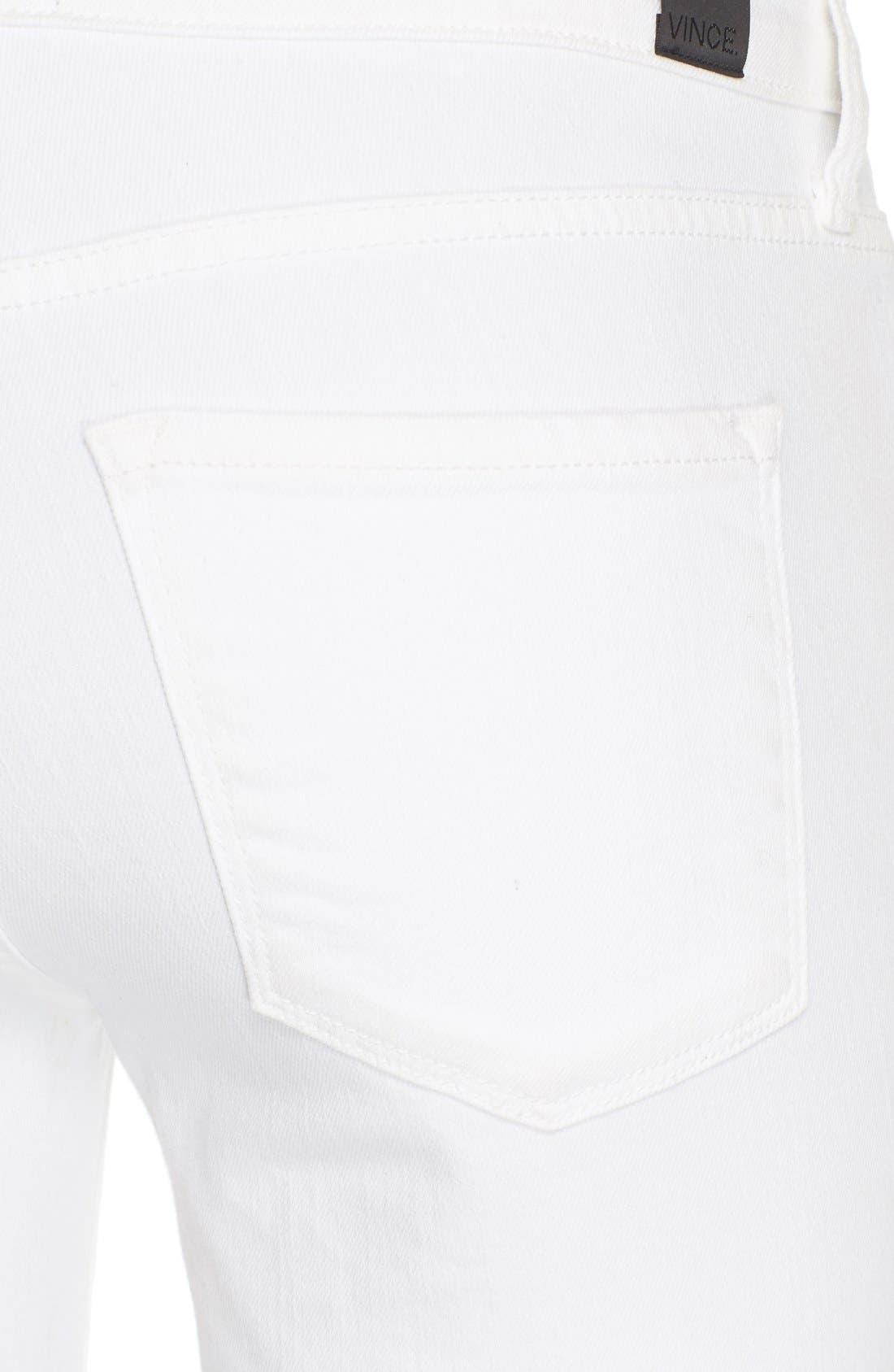 'Riley' Skinny Jeans,                             Alternate thumbnail 3, color,                             100