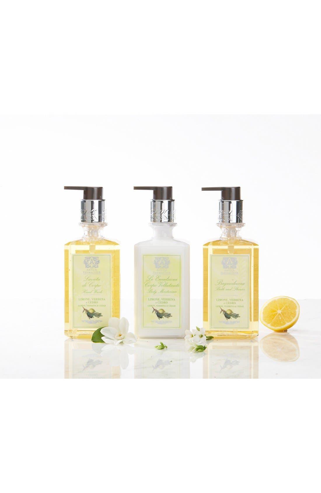 'Lemon, Verbena & Cedar' Body Moisturizer,                             Alternate thumbnail 2, color,                             NO COLOR