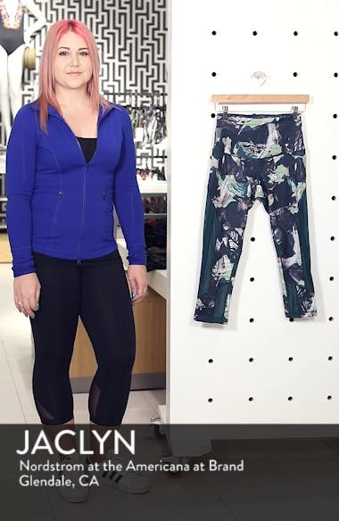 Sheer to There High Waist Crop Leggings, sales video thumbnail