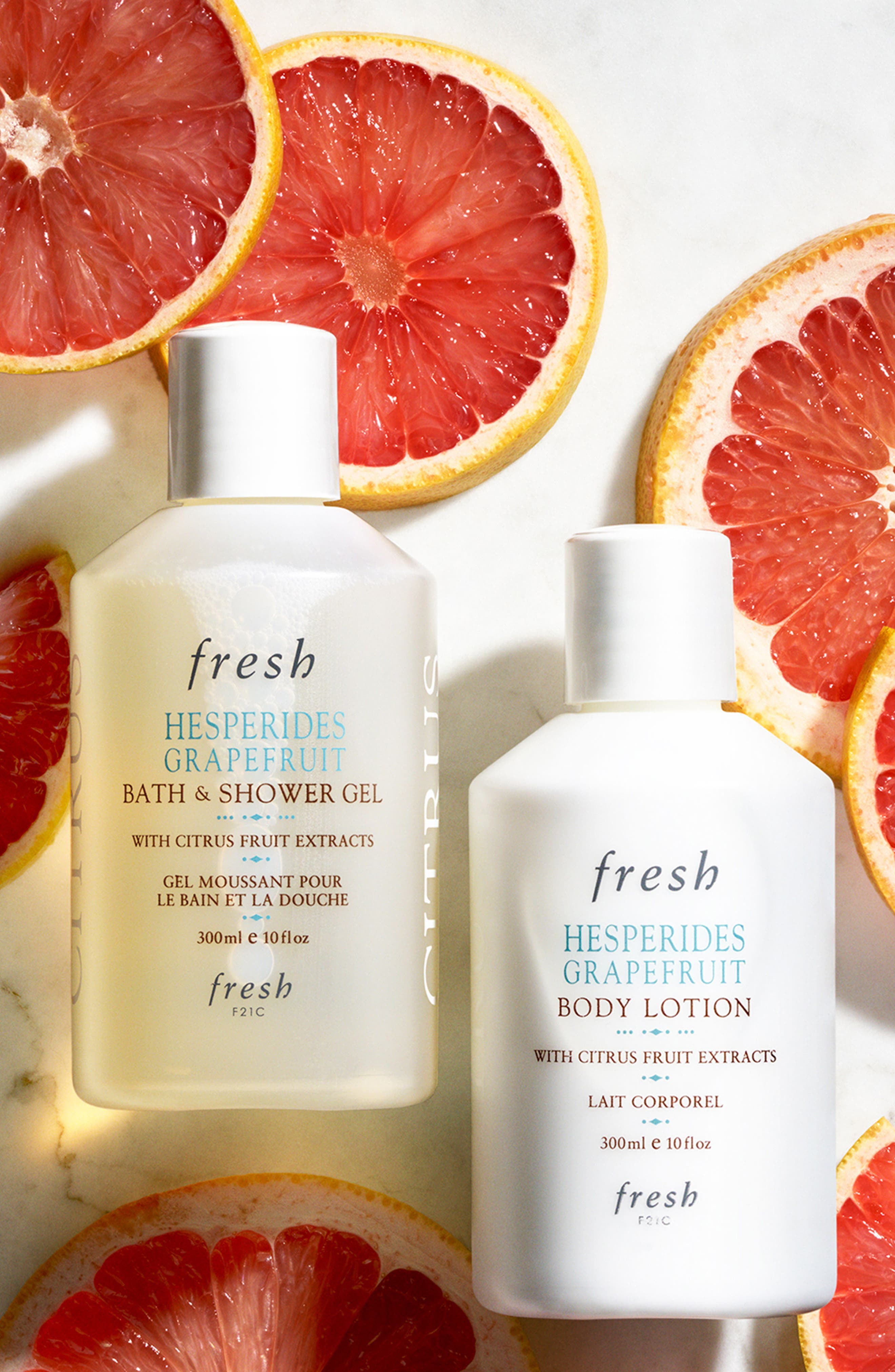 Hesperides Grapefruit Body Lotion,                             Alternate thumbnail 2, color,                             NO COLOR