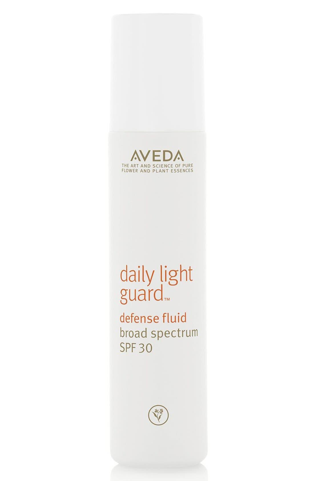daily light guard<sup>™</sup> Defense Fluid Broad Spectrum SPF 30,                             Main thumbnail 1, color,                             NO COLOR