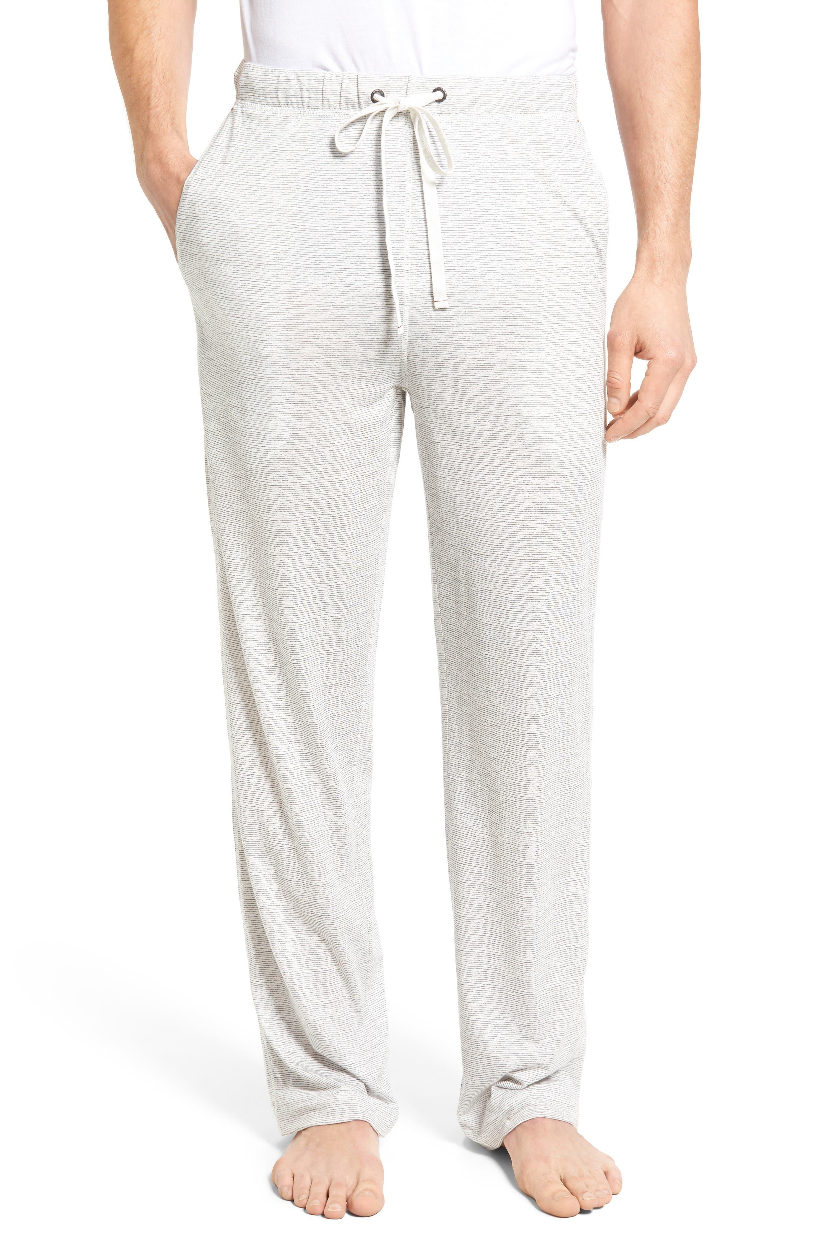 Pima Cotton & Modal Lounge Pants,                         Main,                         color, 020