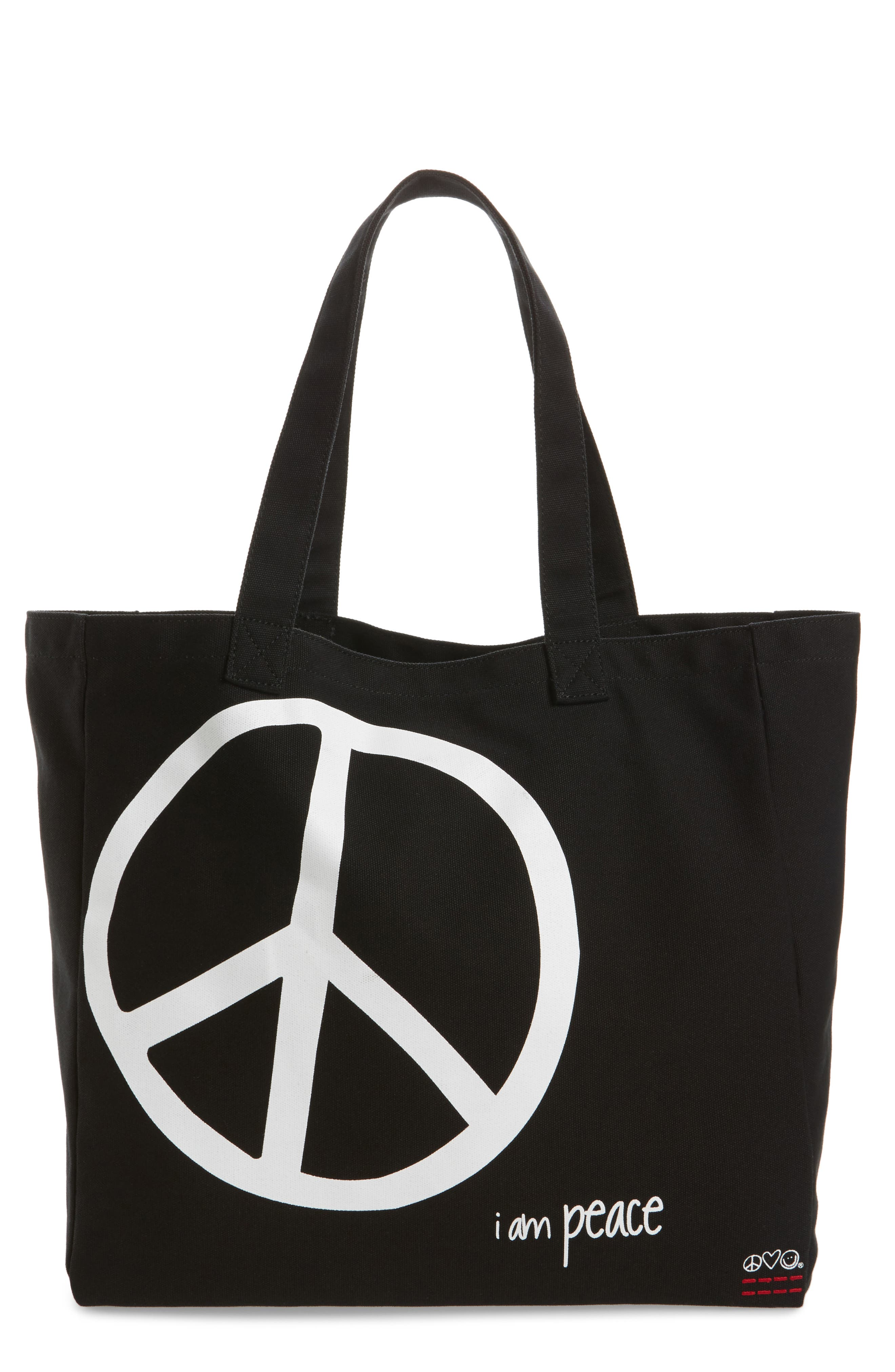 Oversized Canvas Tote,                             Main thumbnail 3, color,