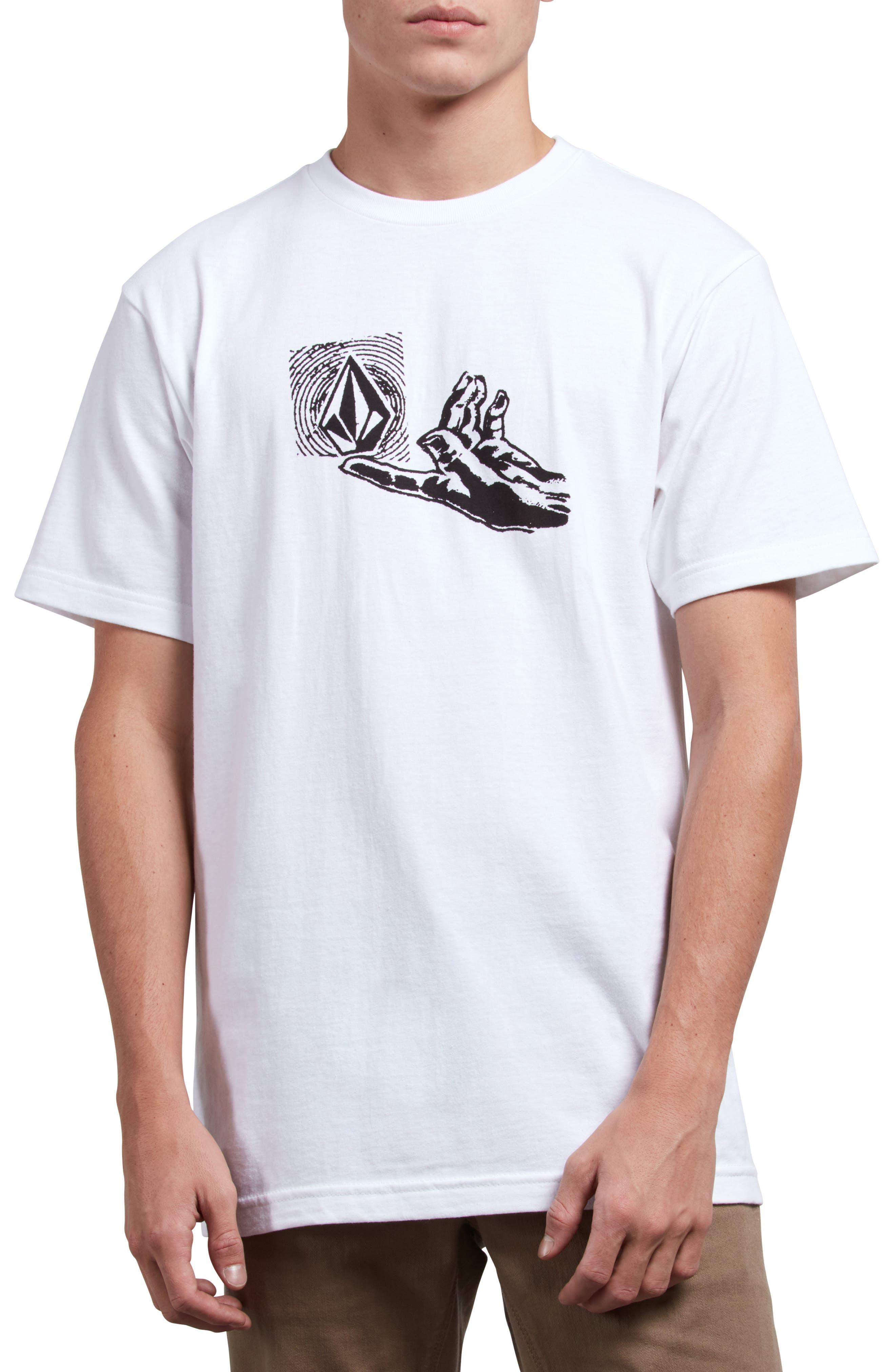 Leaner T-Shirt,                             Main thumbnail 1, color,                             WHITE