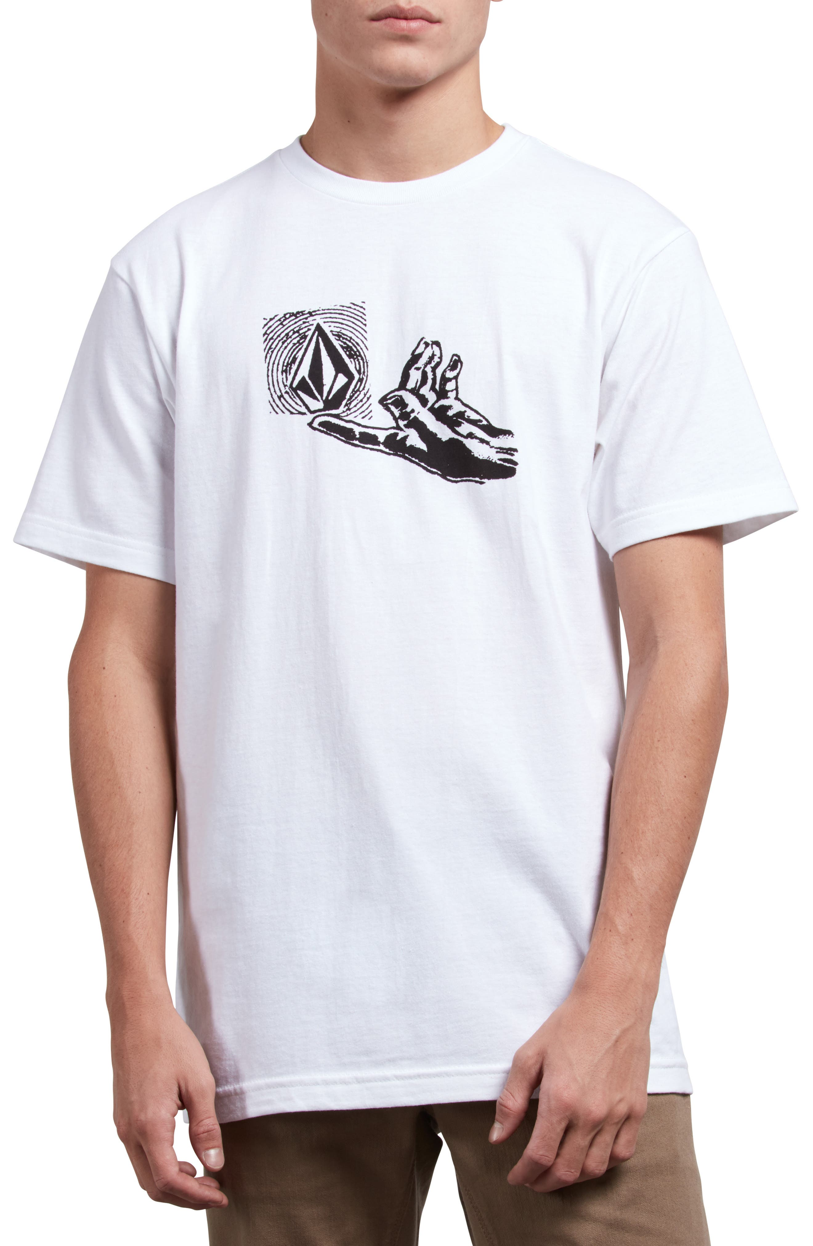 Leaner T-Shirt,                         Main,                         color, WHITE
