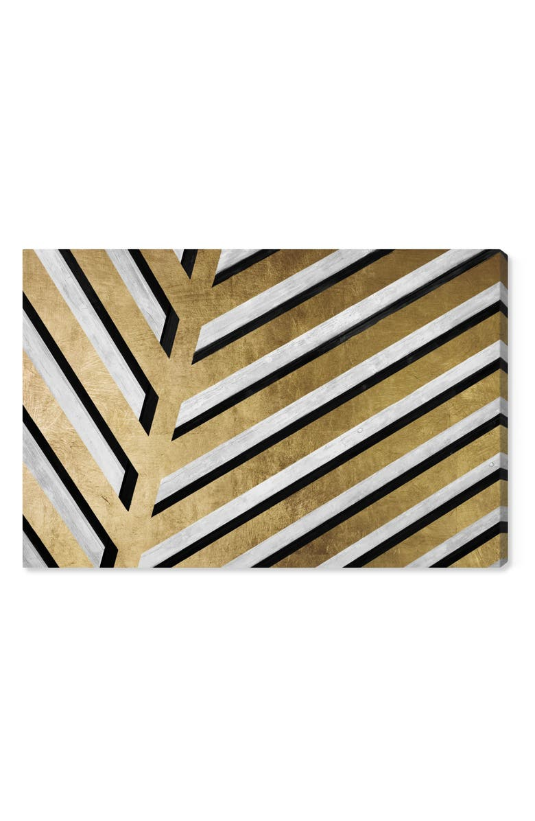 Oliver Gal Geometric Palm Canvas Wall Art Nordstrom