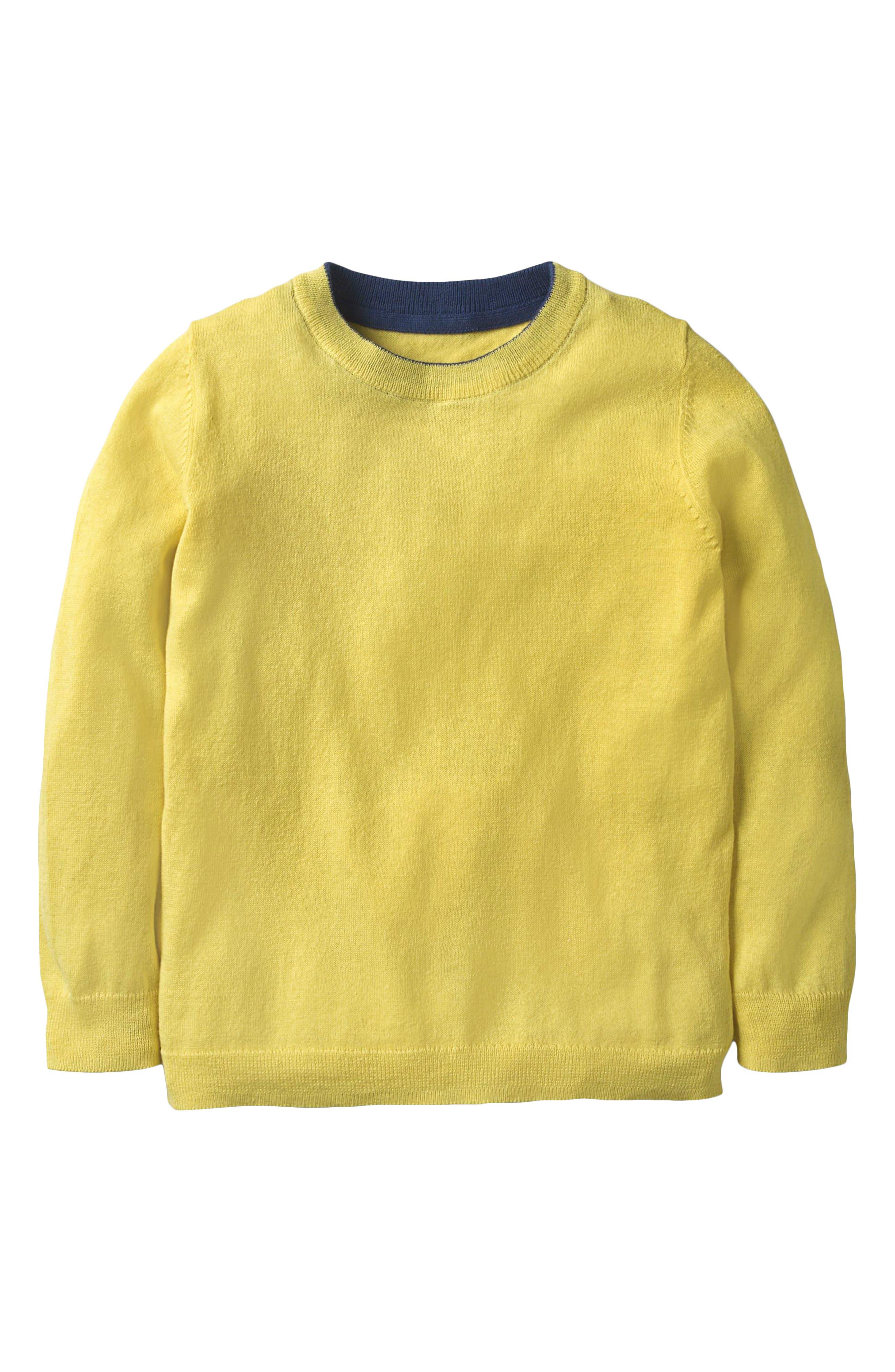 Cotton & Cashmere Sweater,                         Main,                         color, 704