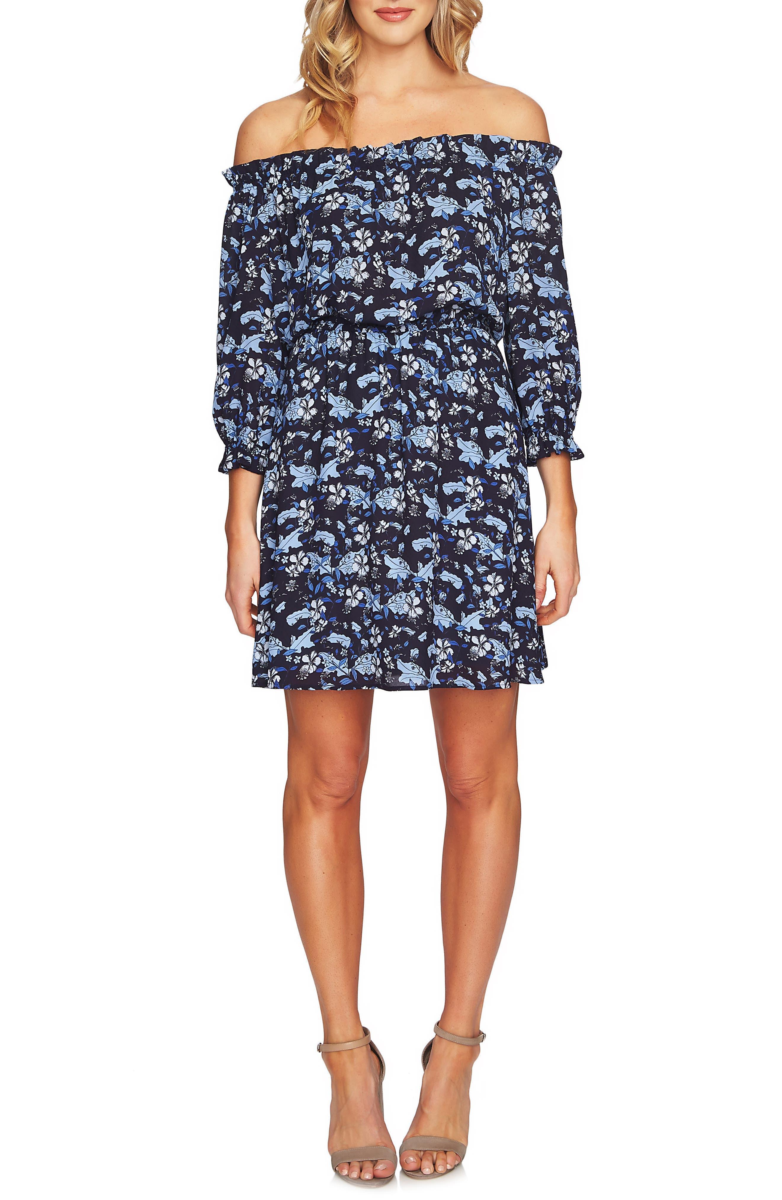 Ivy Off the Shoulder Dress,                         Main,                         color, 430
