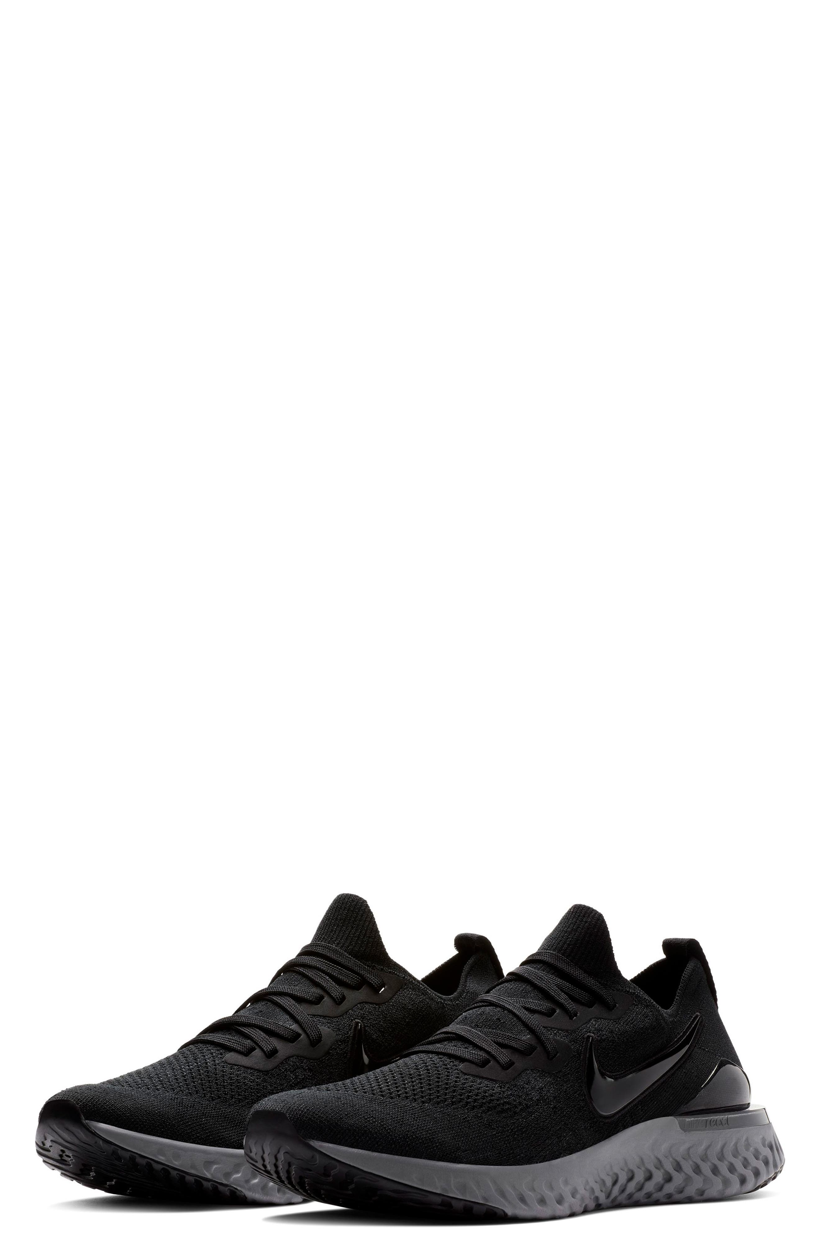Epic React Flyknit 2 Running Shoe, Main, color, 001