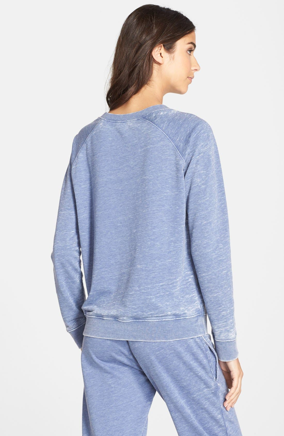 Burnout Lounge Sweatshirt,                             Alternate thumbnail 162, color,