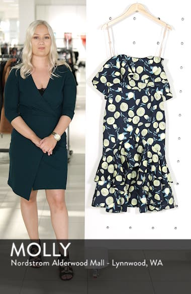 Sasha Off the Shoulder Dress, sales video thumbnail