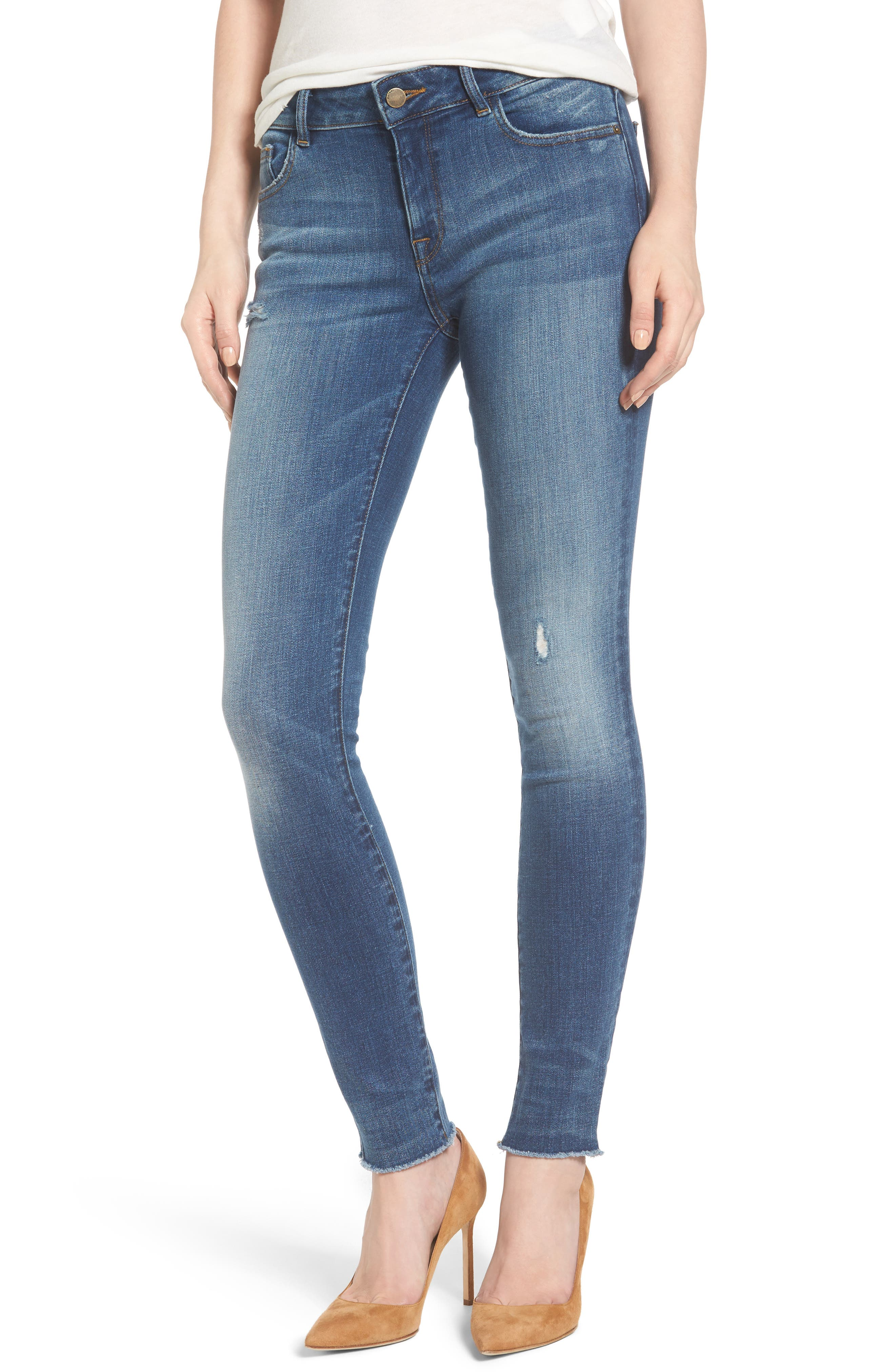 Florence Instasculpt Skinny Jeans,                             Main thumbnail 1, color,                             423